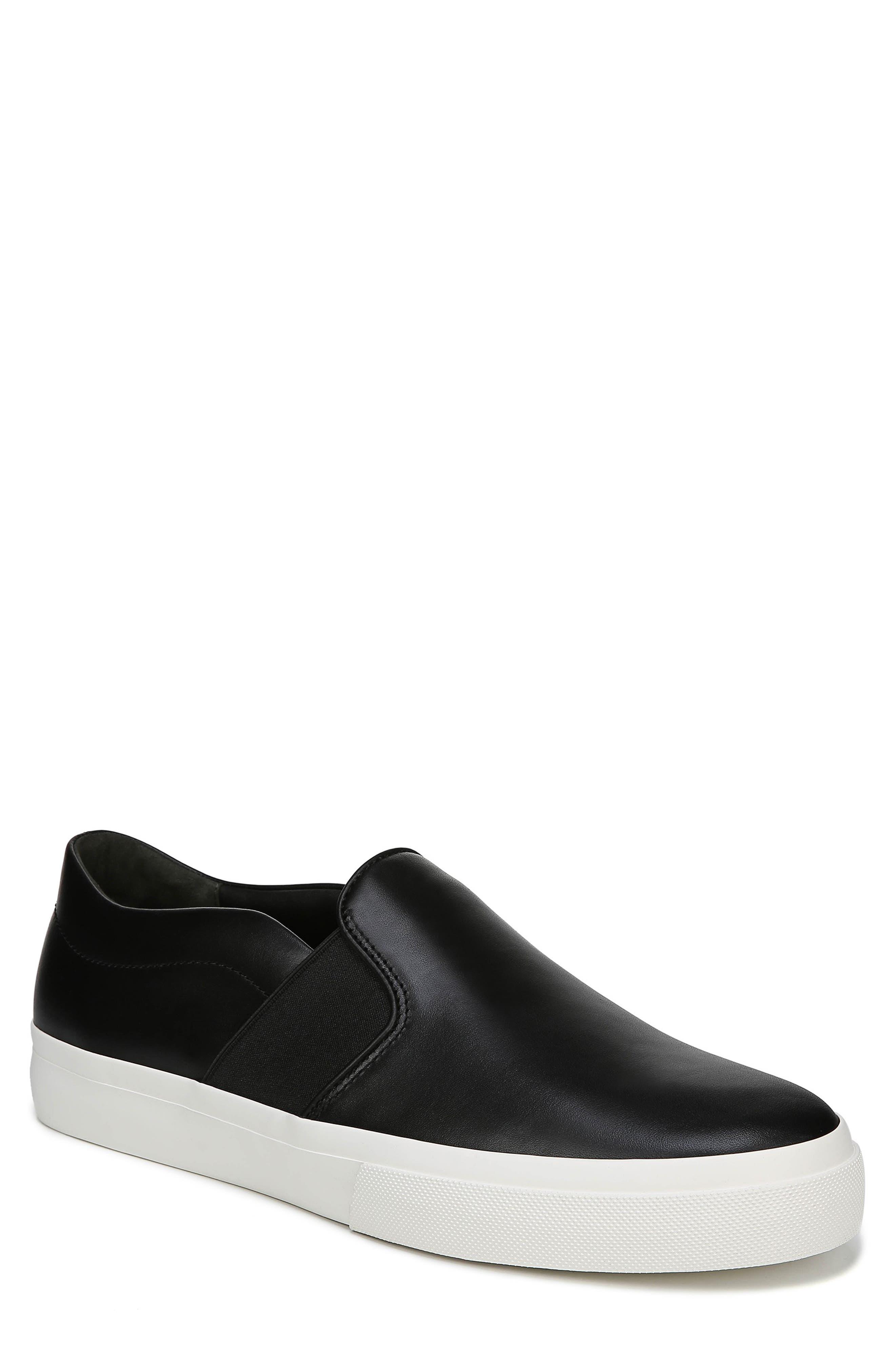 Fenton Slip-On  Sneaker,                             Main thumbnail 1, color,                             BLACK/ BLACK