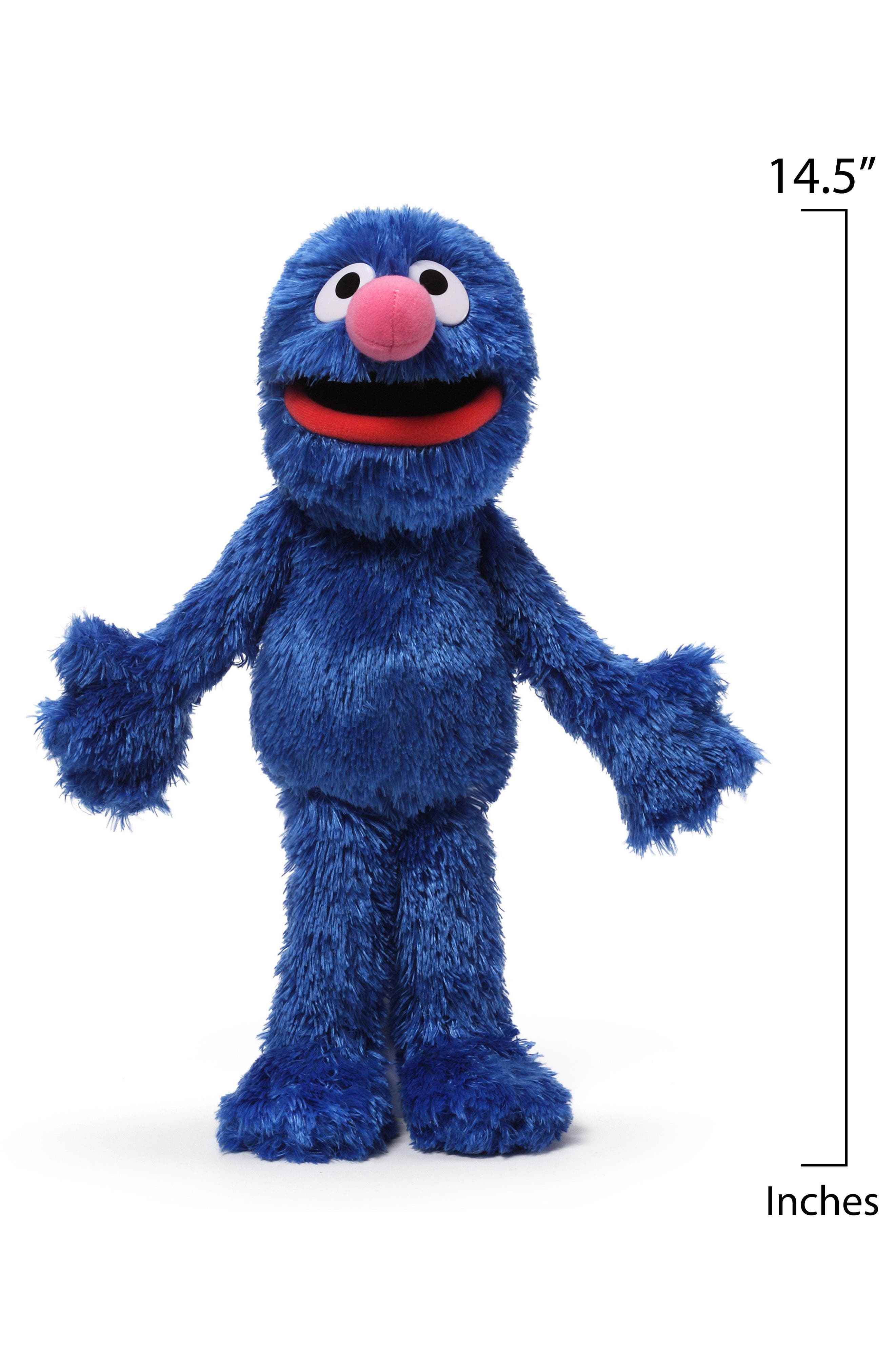 'Grover' Stuffed Toy,                             Alternate thumbnail 2, color,                             BLUE