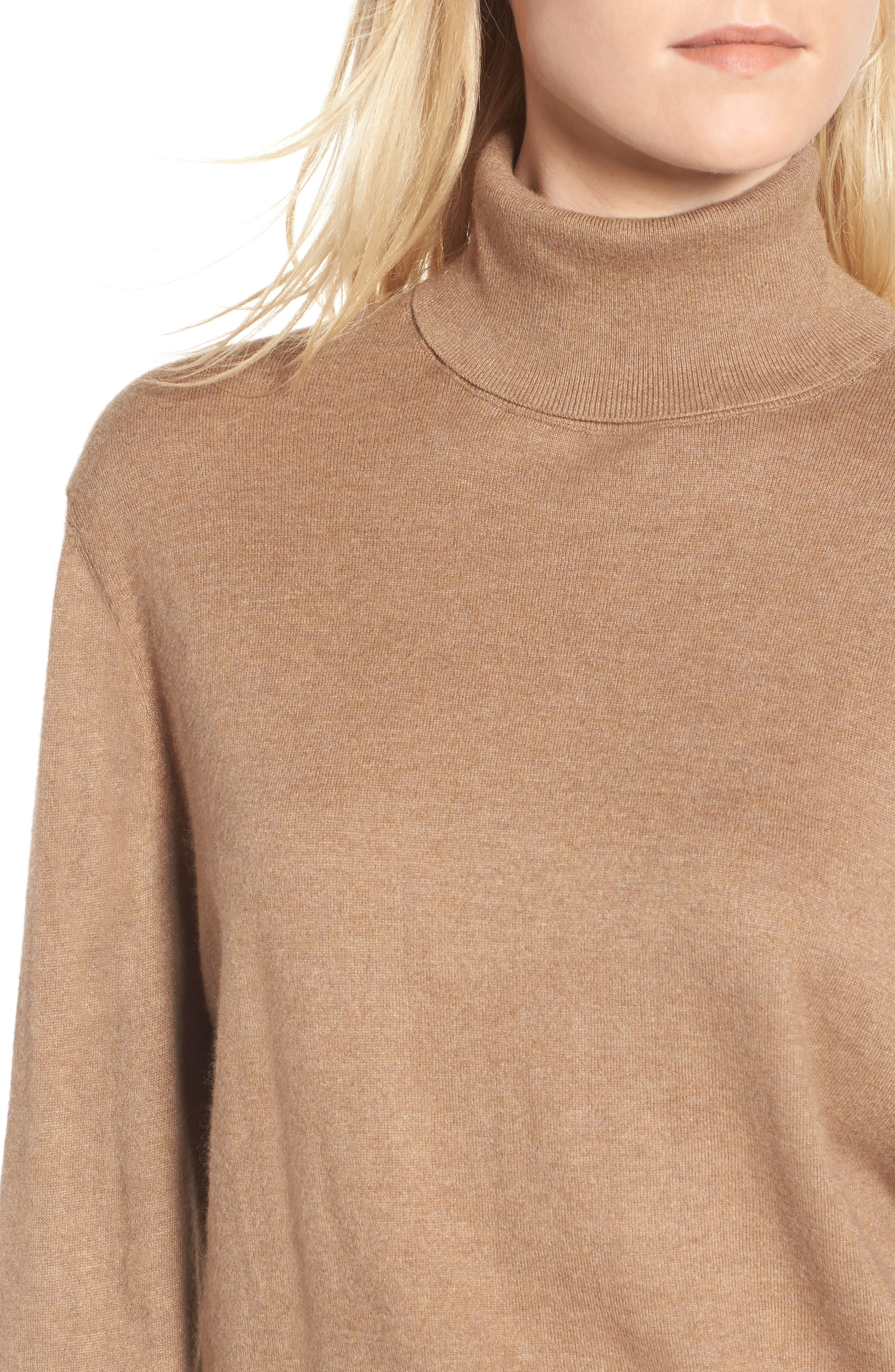 Boyfriend Turtleneck Sweater,                             Alternate thumbnail 12, color,