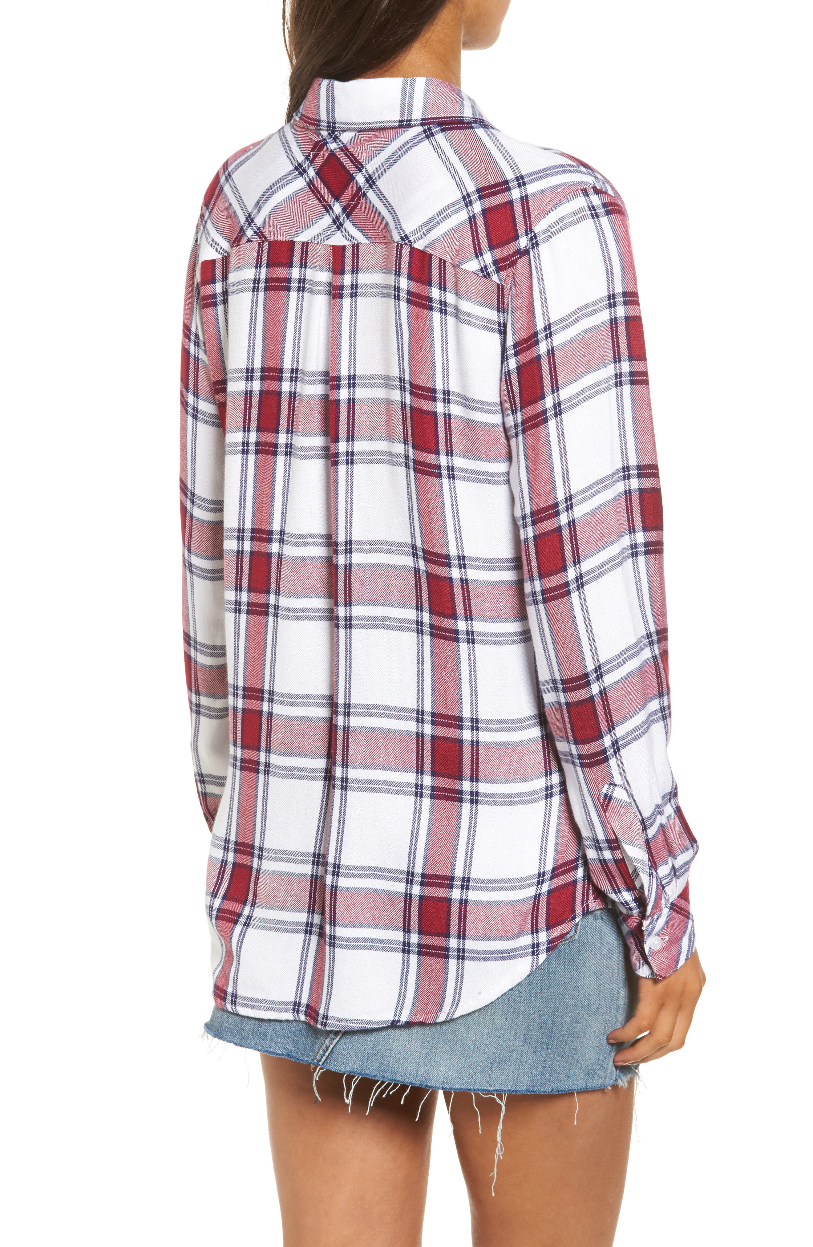 Hunter Plaid Shirt,                             Alternate thumbnail 219, color,