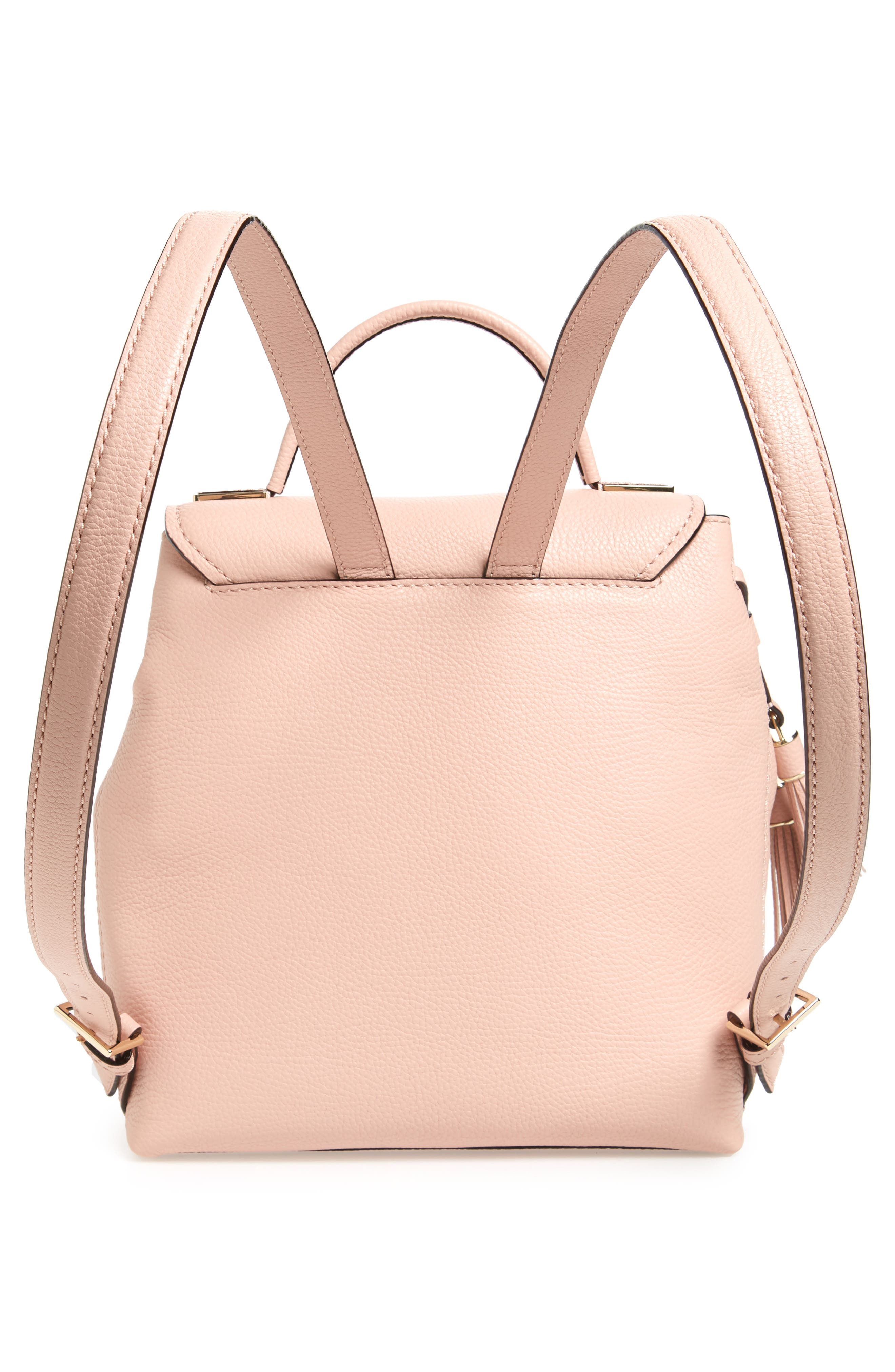 kingston drive - simona leather backpack,                             Alternate thumbnail 6, color,