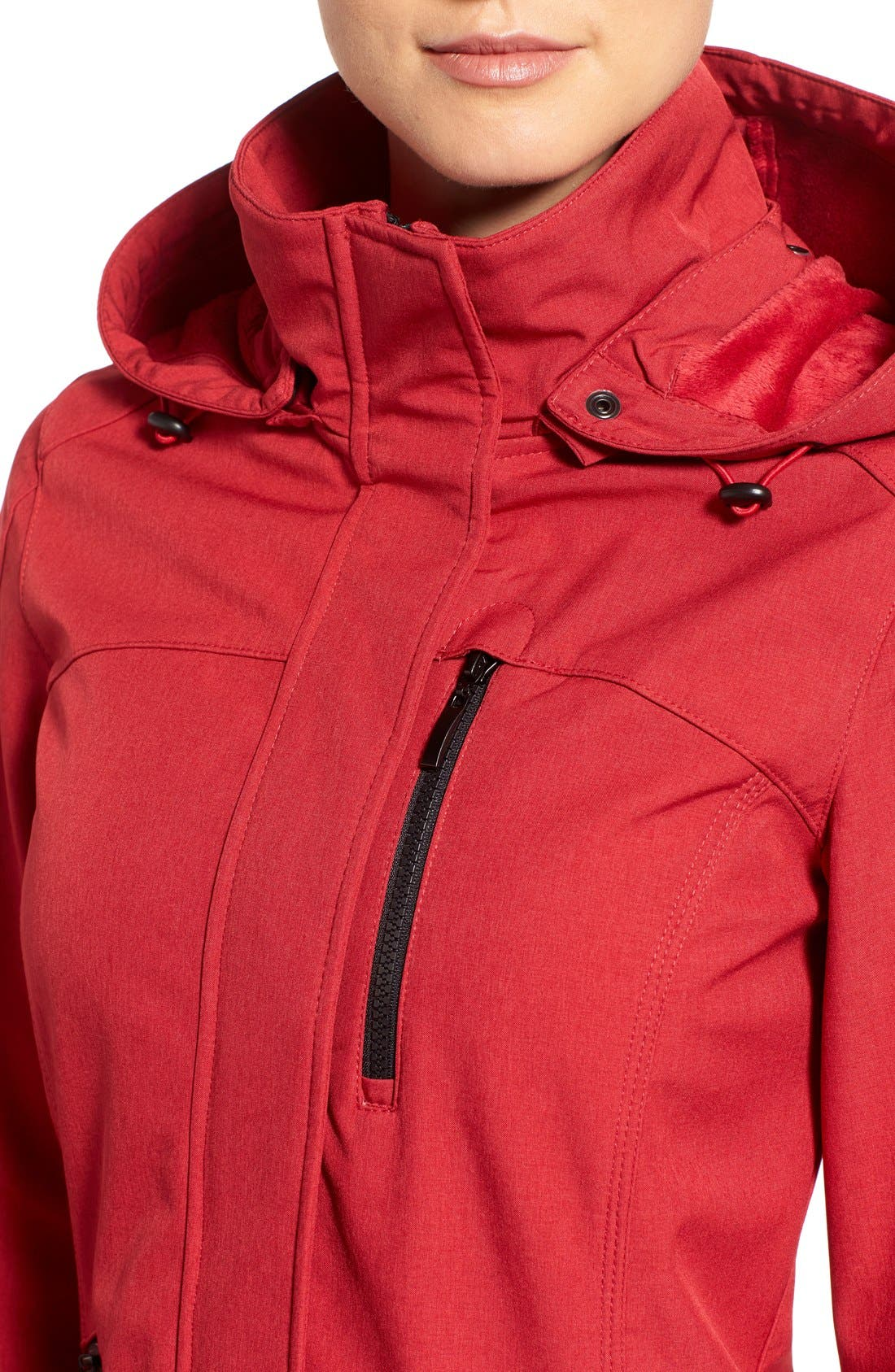 Crossdye Hooded Soft Shell Jacket,                             Alternate thumbnail 30, color,
