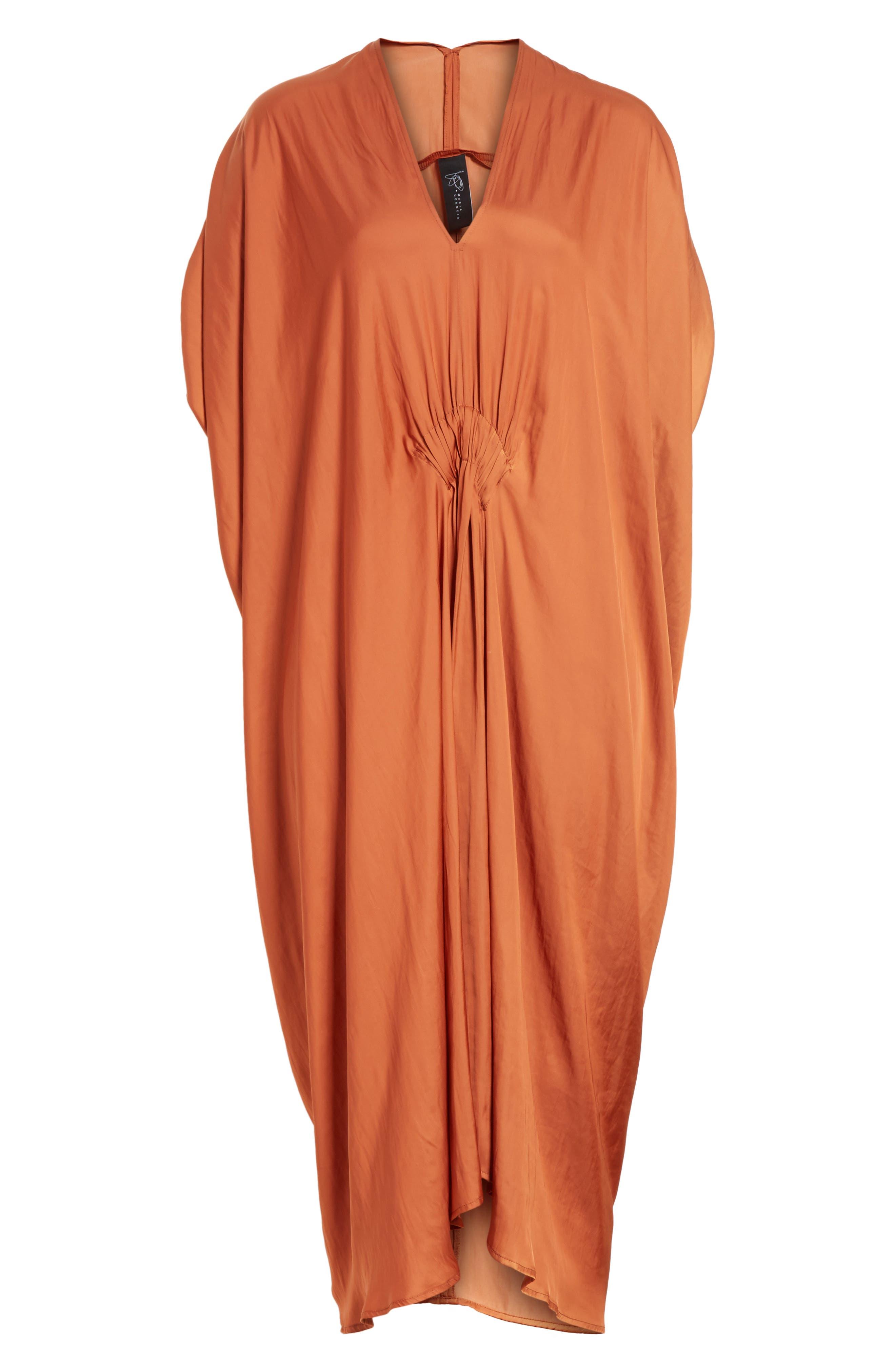 Drape Drift Dress,                             Alternate thumbnail 6, color,                             800