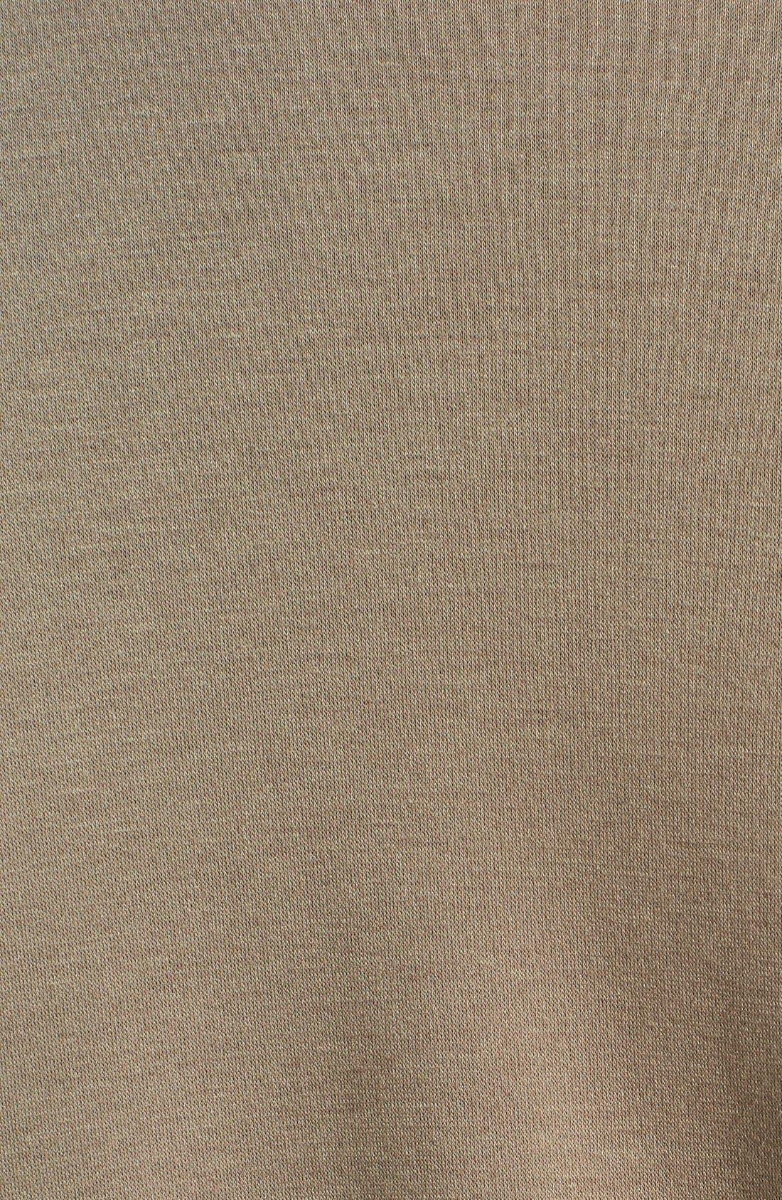 One-Button Fleece Cardigan,                             Alternate thumbnail 111, color,
