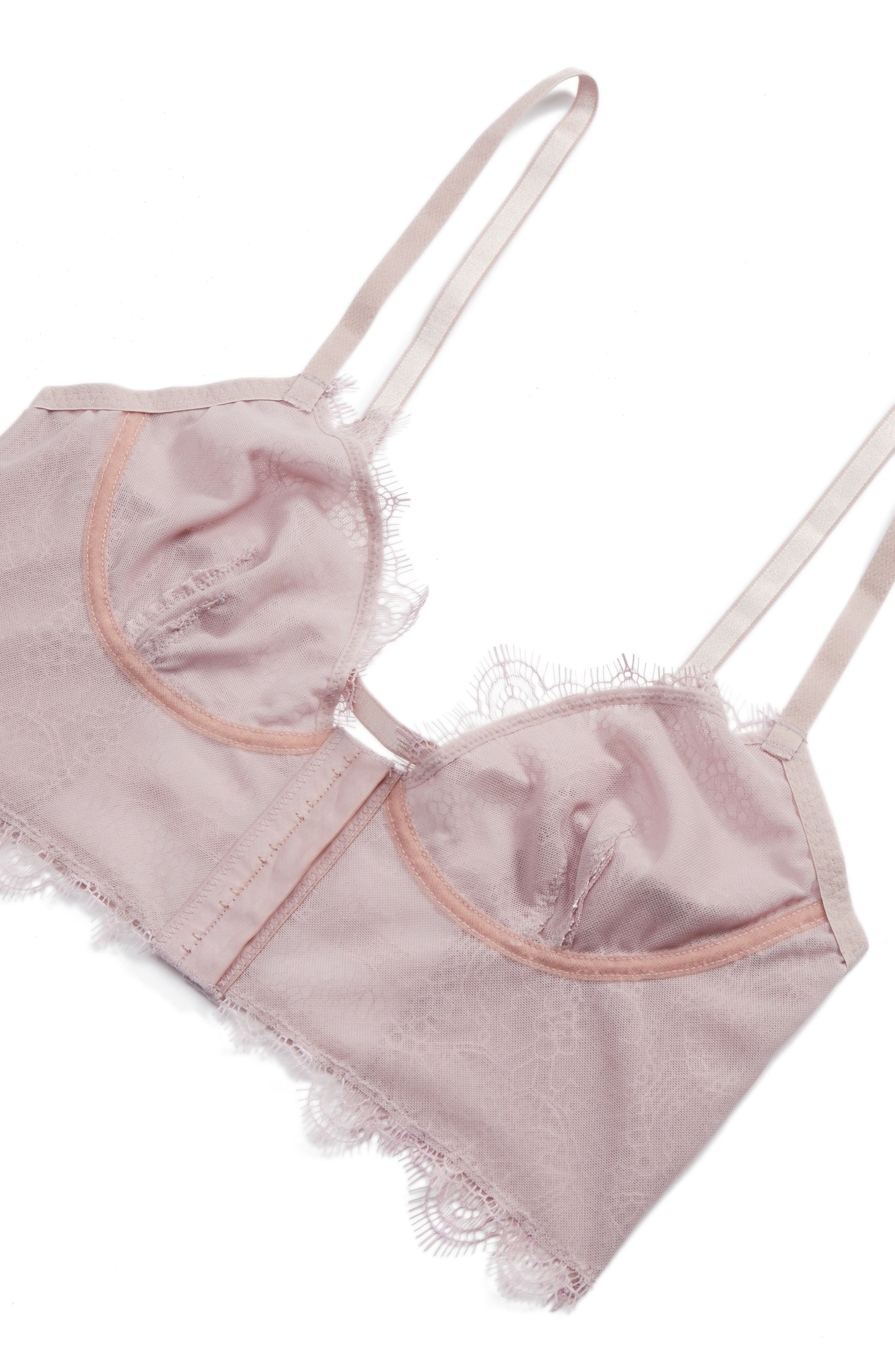 Intimately FP Cross My Heart Underwire Longline Bra,                             Alternate thumbnail 12, color,