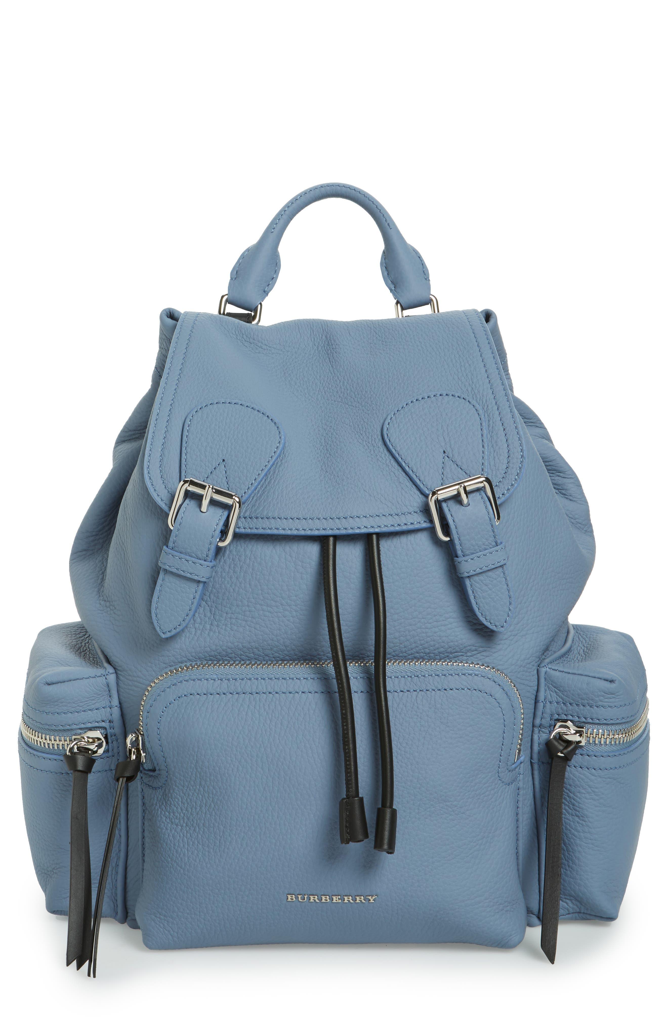 Medium Rucksack Deerskin Backpack,                             Main thumbnail 1, color,                             427