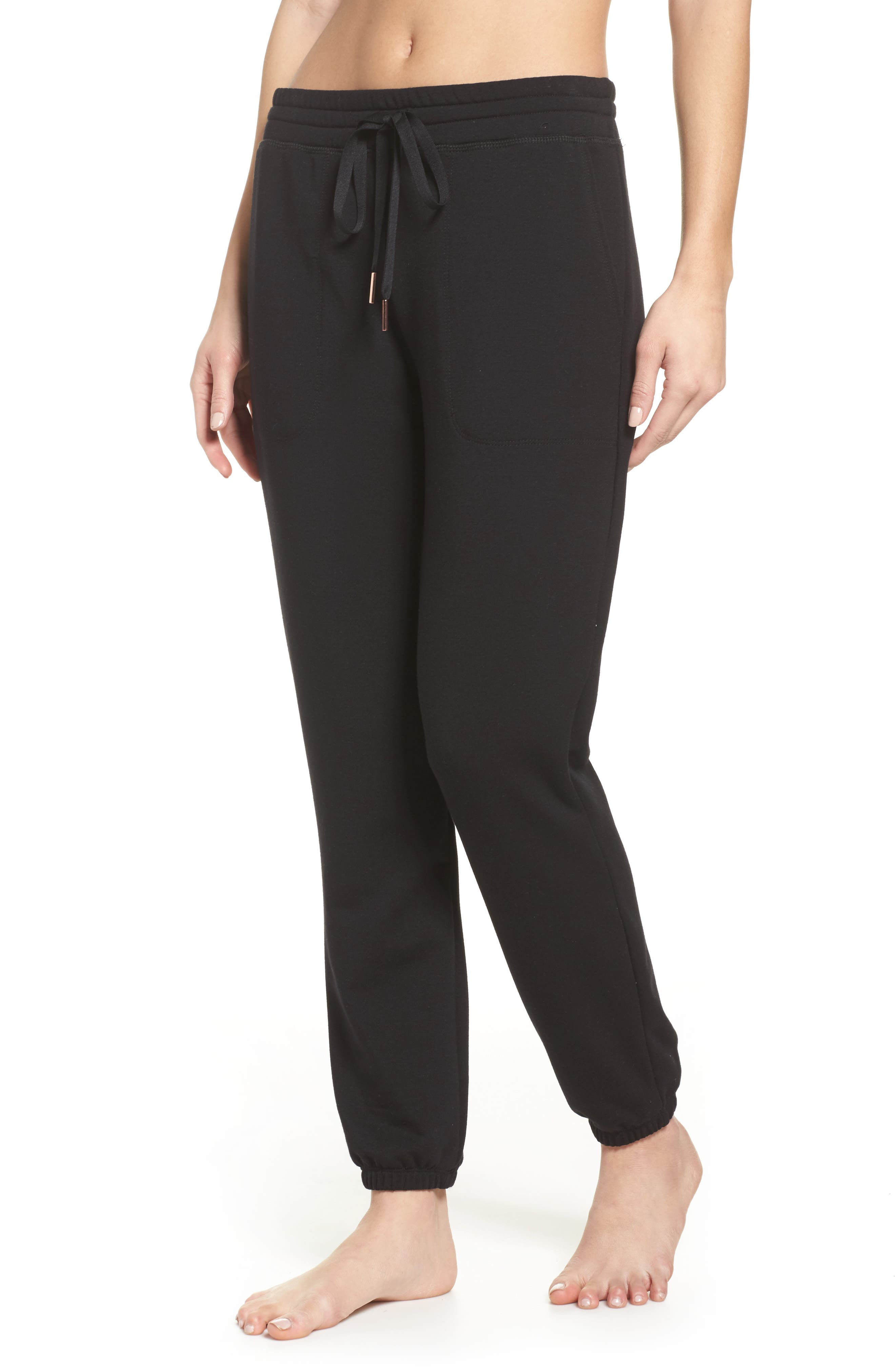 Living Easy Sweatpants,                         Main,                         color, BLACK