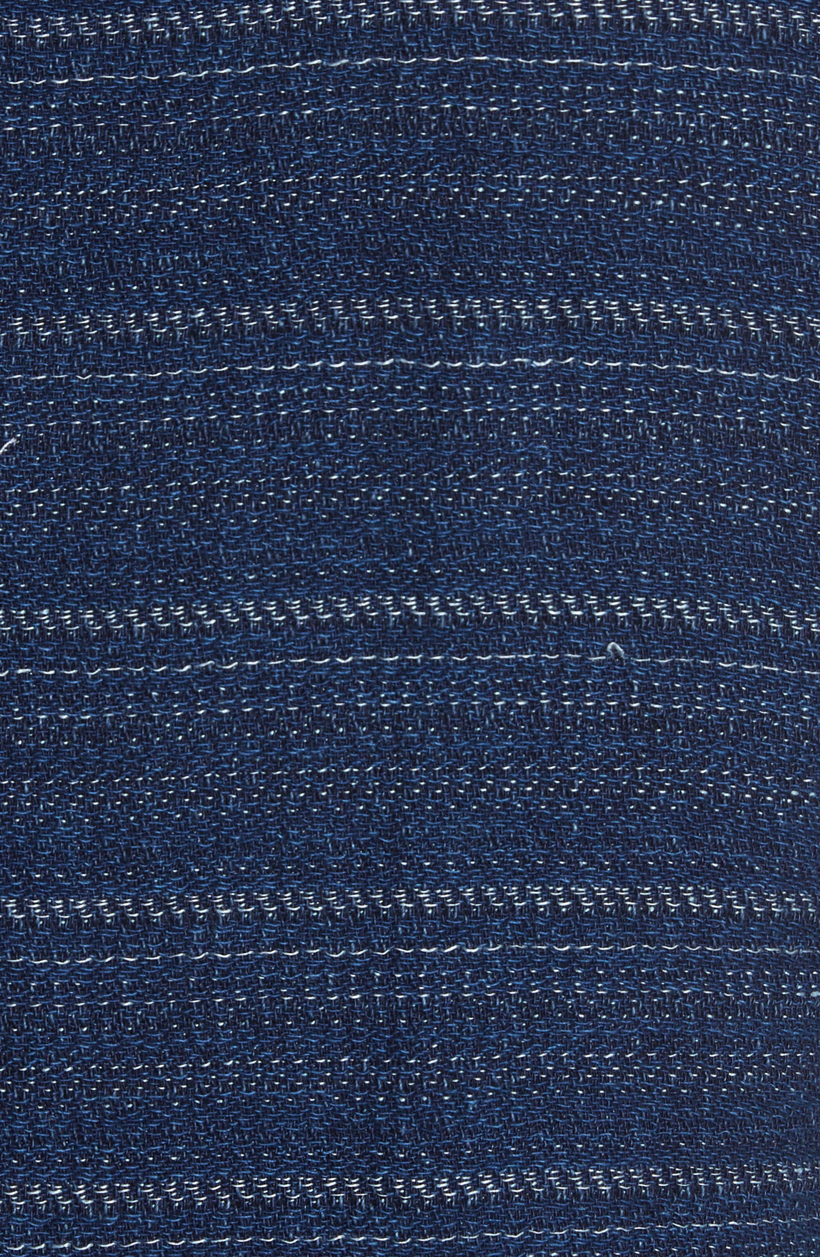 Napoli Nicola Barre Stripe Cotton & Linen Jacket,                             Alternate thumbnail 6, color,                             410