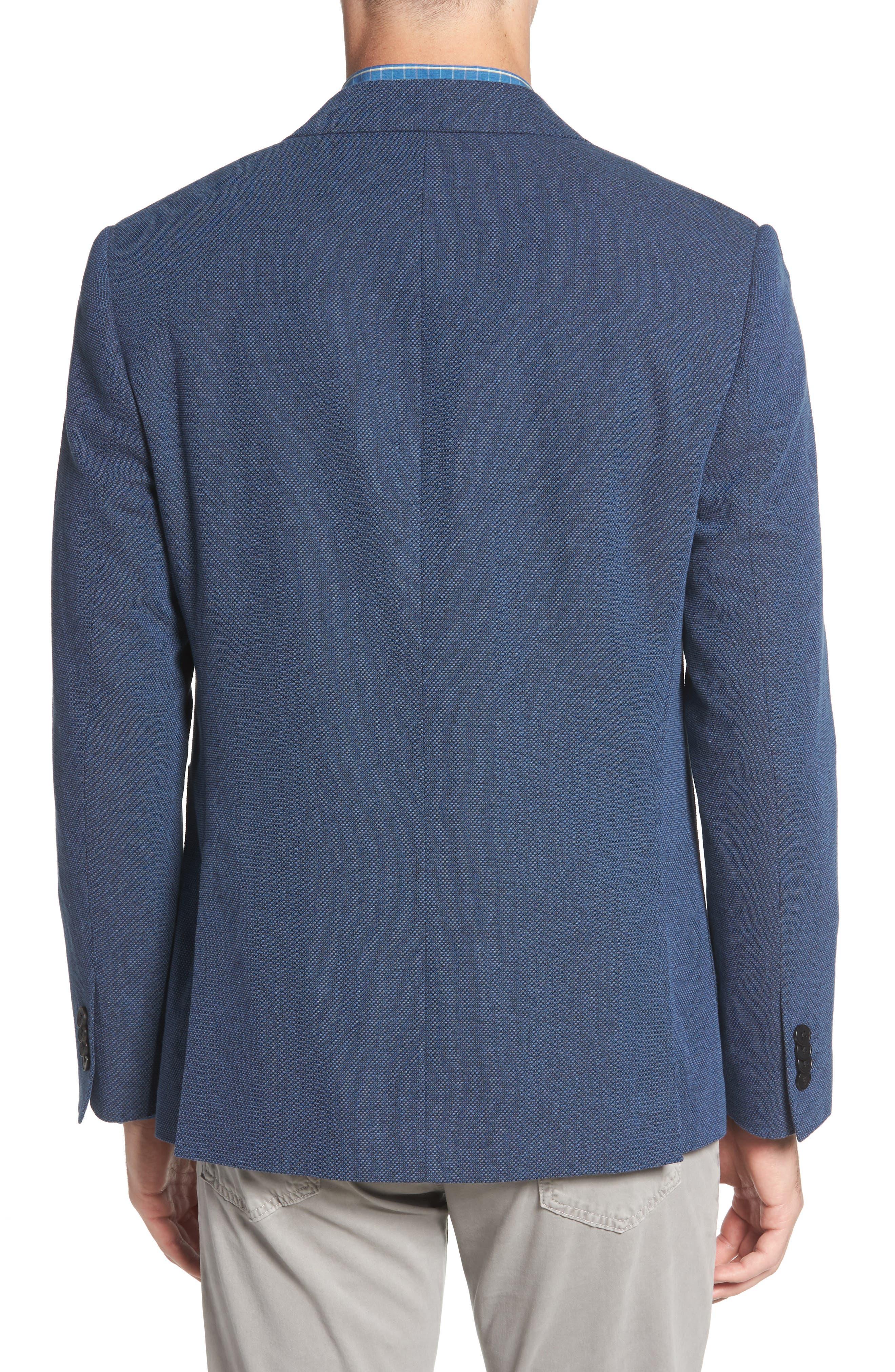 Point Break Sport Fit Cotton & Linen Blazer,                             Alternate thumbnail 2, color,                             432