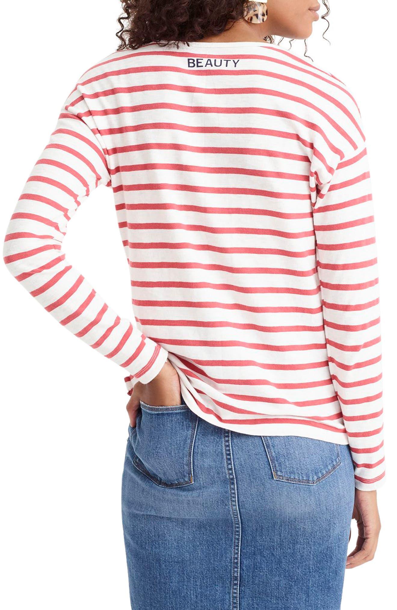 Beauté T-Shirt,                             Alternate thumbnail 2, color,                             600