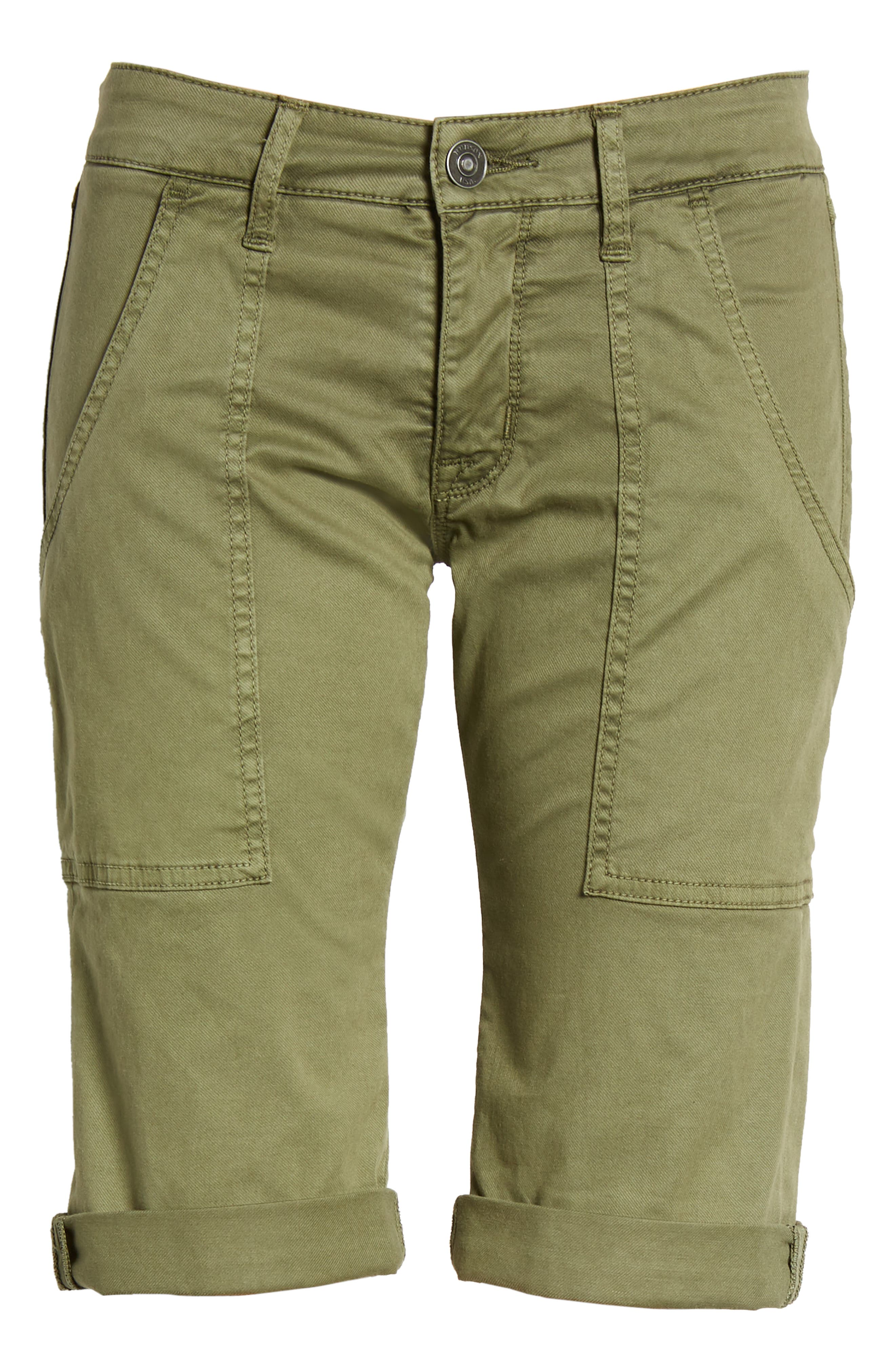 HUDSON JEANS,                             The Leverage Cargo Shorts,                             Alternate thumbnail 6, color,                             363