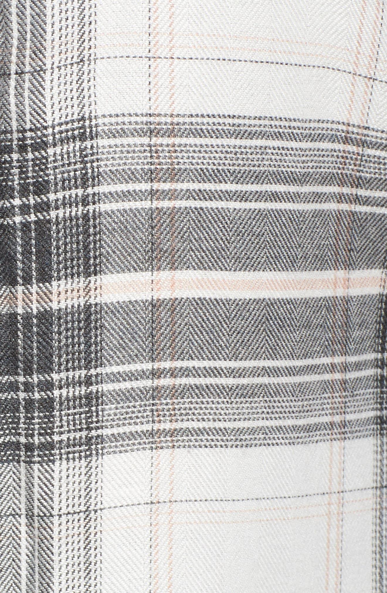 Cold Elbow Linearscape Plaid Shirt,                             Alternate thumbnail 5, color,                             669