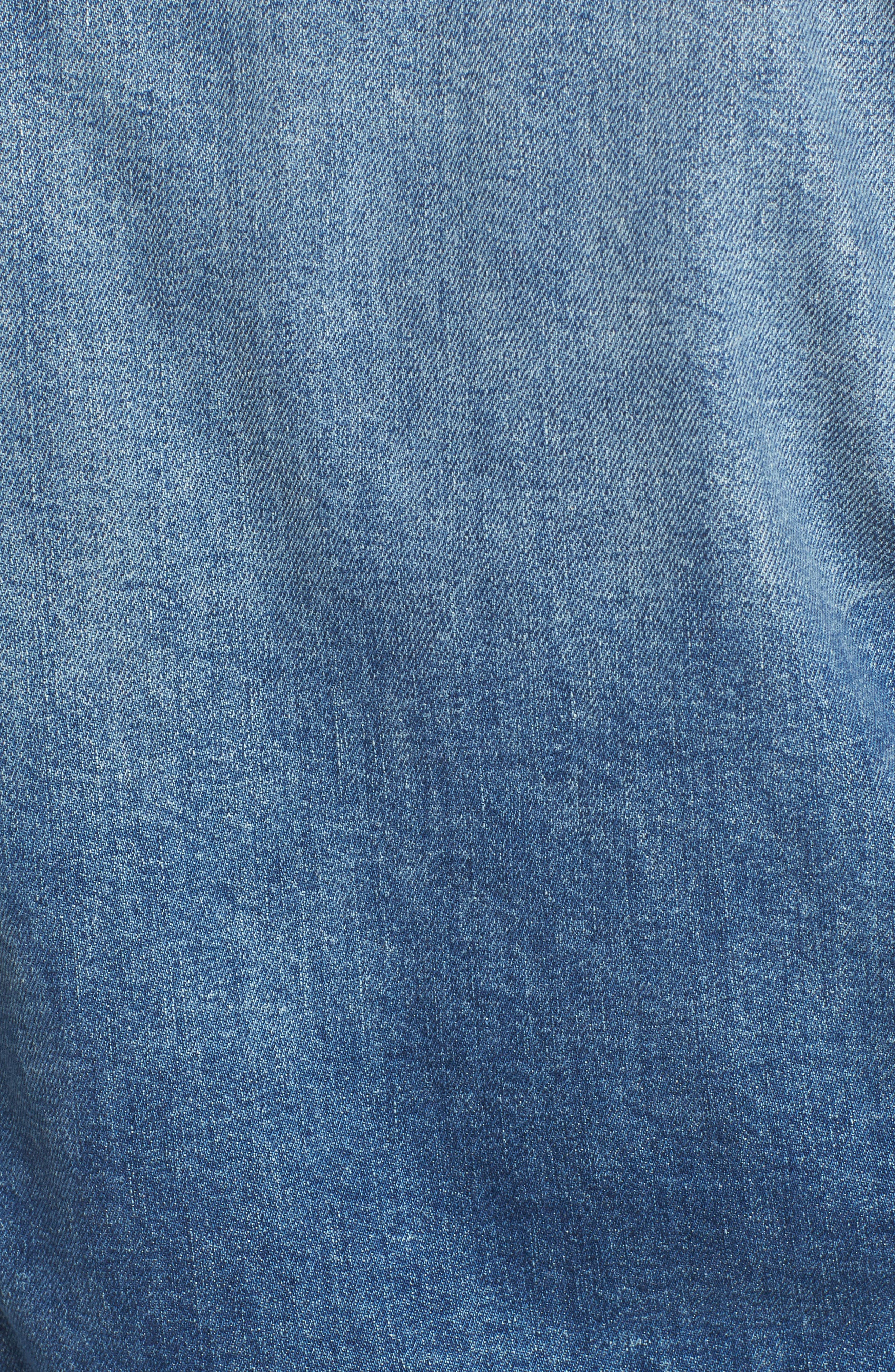 The Cut Denim Jacket,                             Alternate thumbnail 7, color,                             BETTER WHEN ITS WRONG