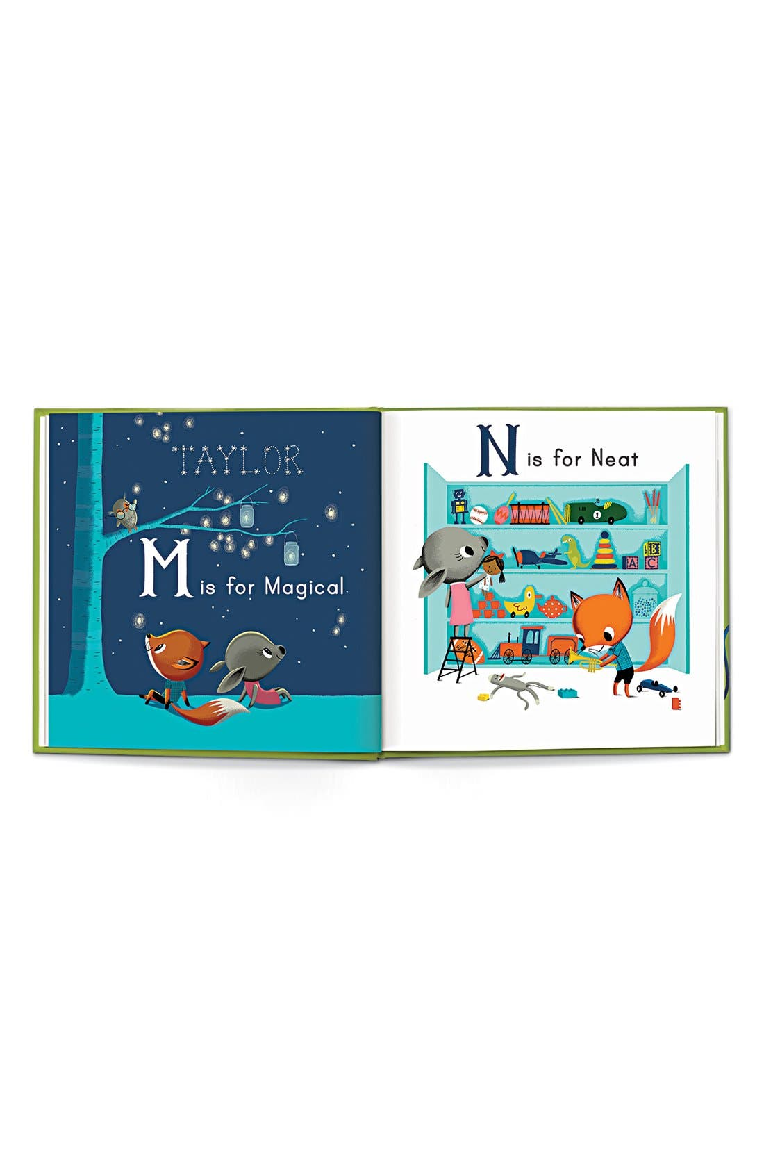 I SEE ME!,                             'M is for Me' Personalized Book,                             Alternate thumbnail 5, color,                             BOY