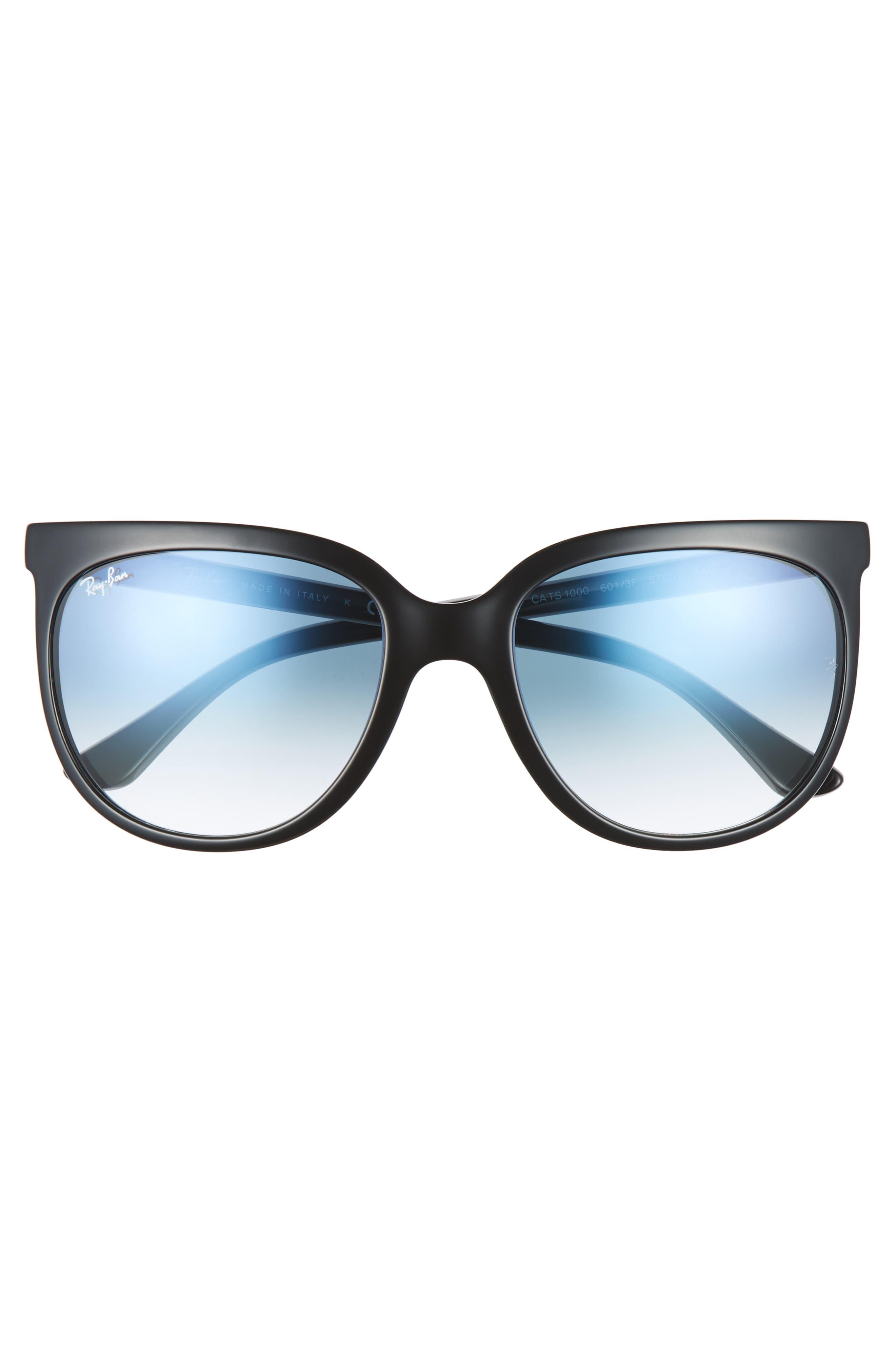 Retro Cat Eye Sunglasses,                             Alternate thumbnail 16, color,