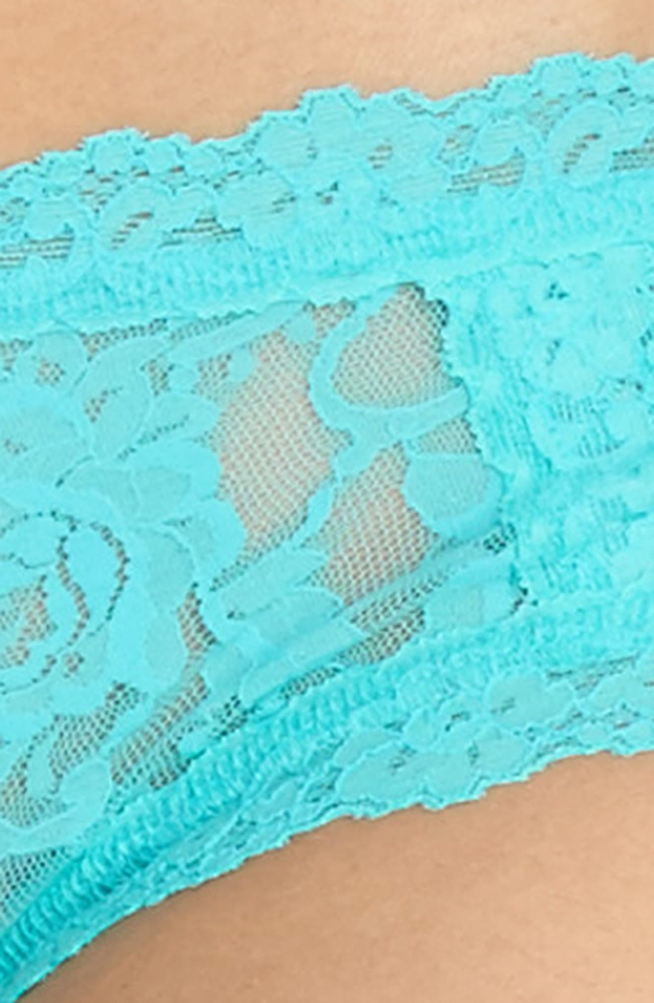 Floral Stretch Lace Girlkini,                             Alternate thumbnail 12, color,