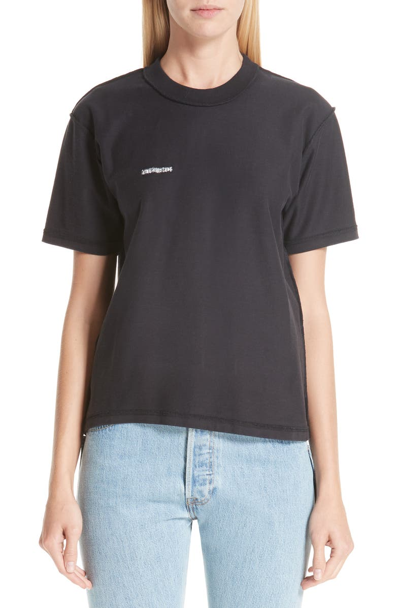 Vetements Fitted Inside-Out Tee   Nordstrom 811ad3e3611