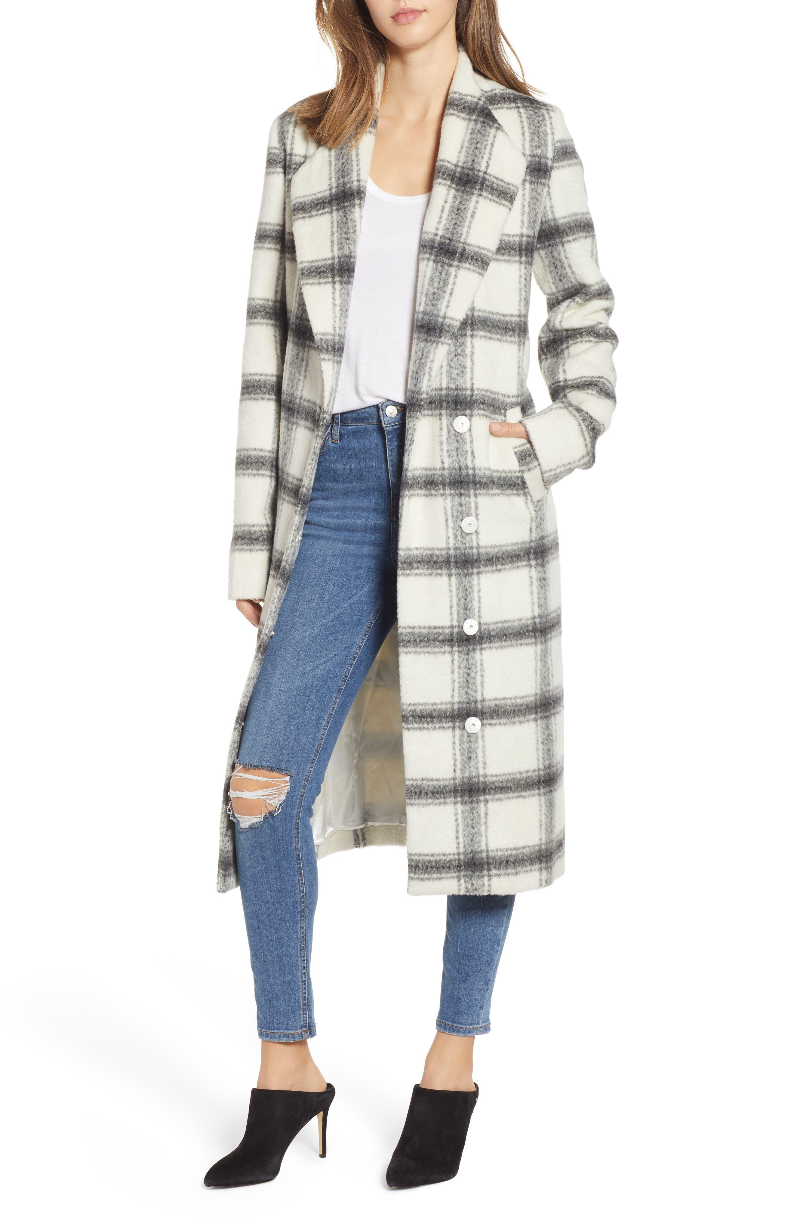SHOW ME YOUR MUMU Hollis Plaid Coat in Fletcher Plaid