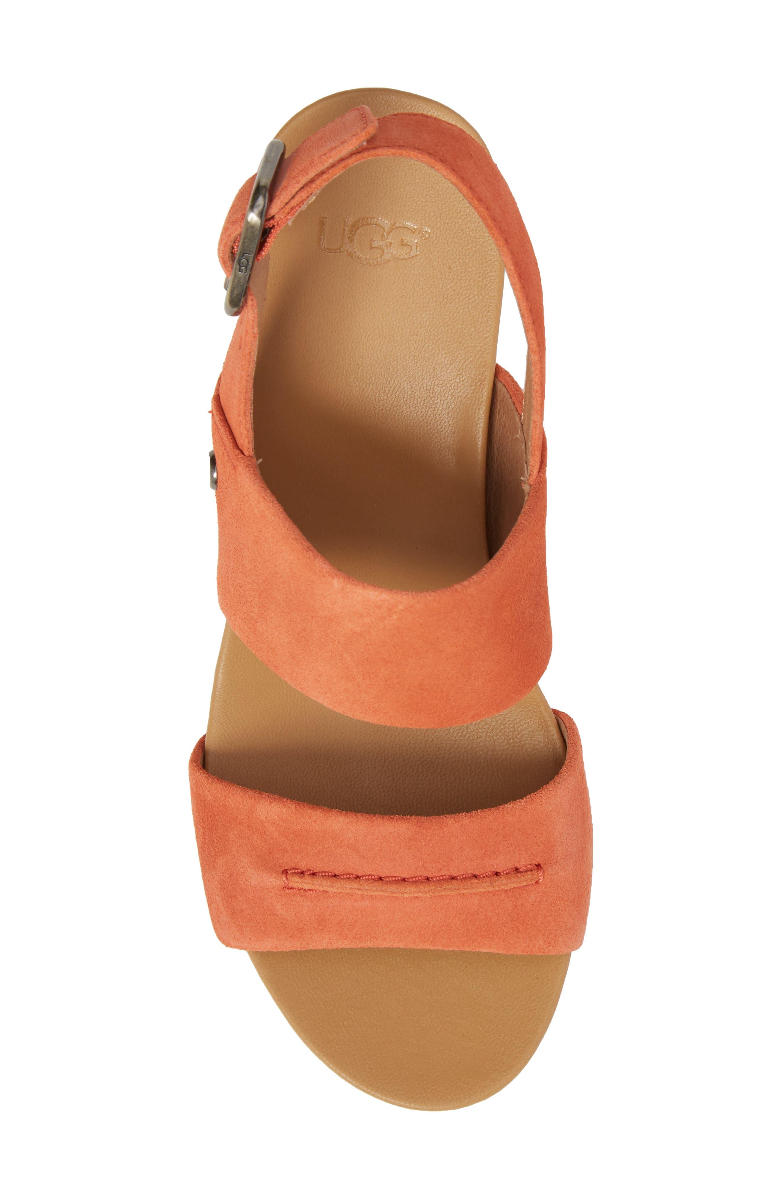 Elena II Platform Wedge Sandal,                             Alternate thumbnail 15, color,