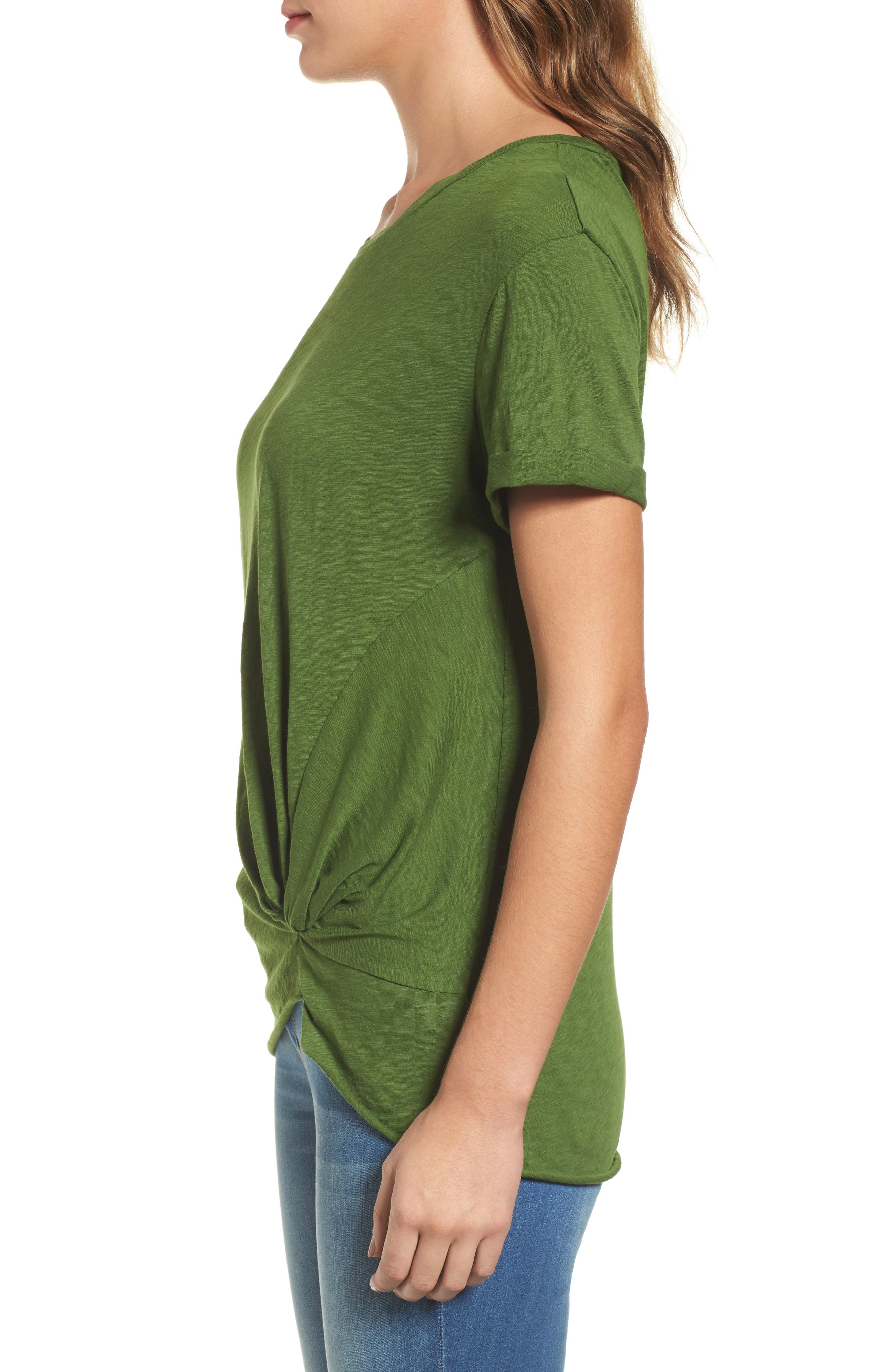 Knotted Tee,                             Alternate thumbnail 30, color,