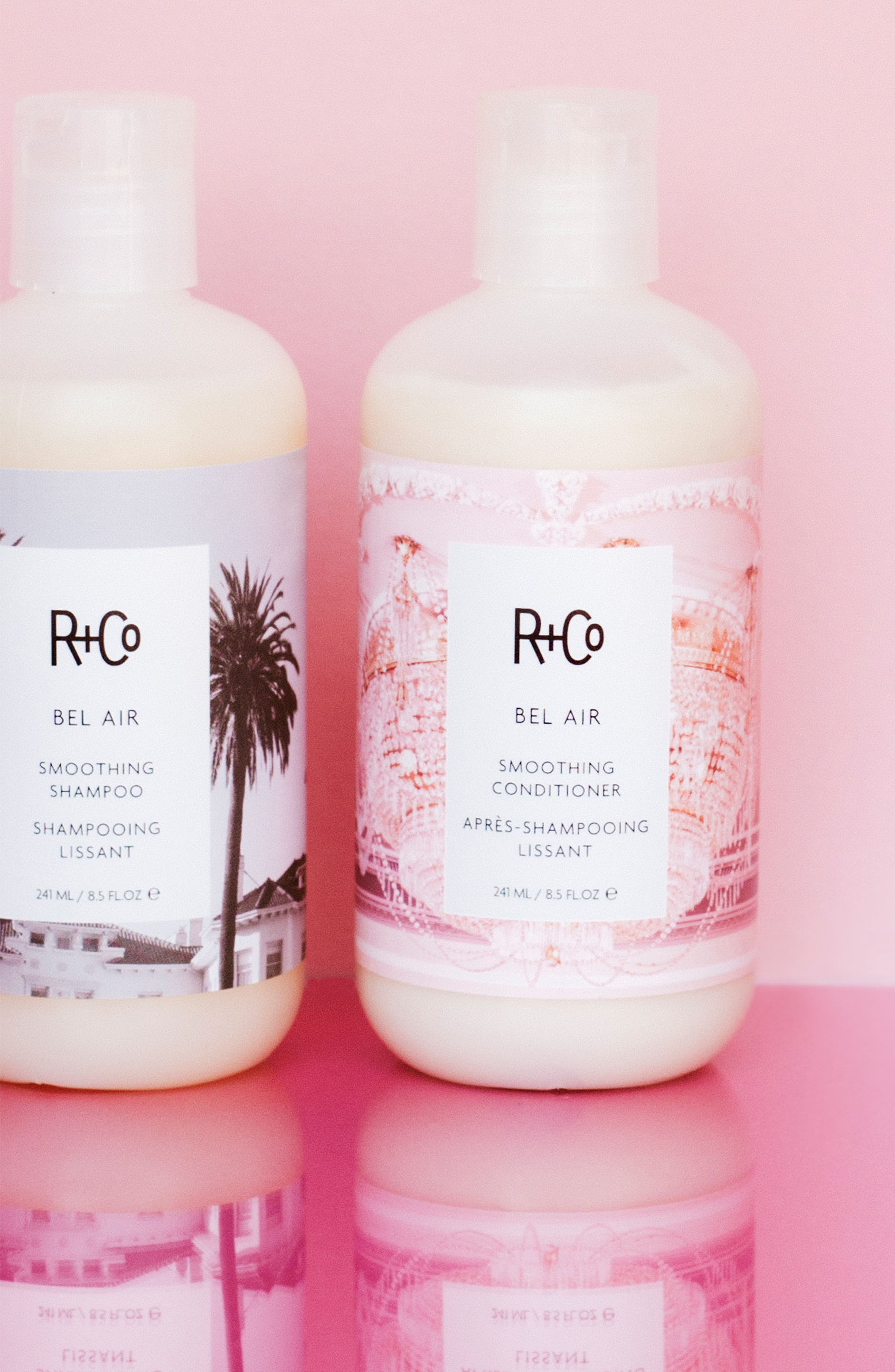 SPACE.NK.apothecary R+Co Bel Air Smoothing Shampoo,                             Alternate thumbnail 5, color,                             000