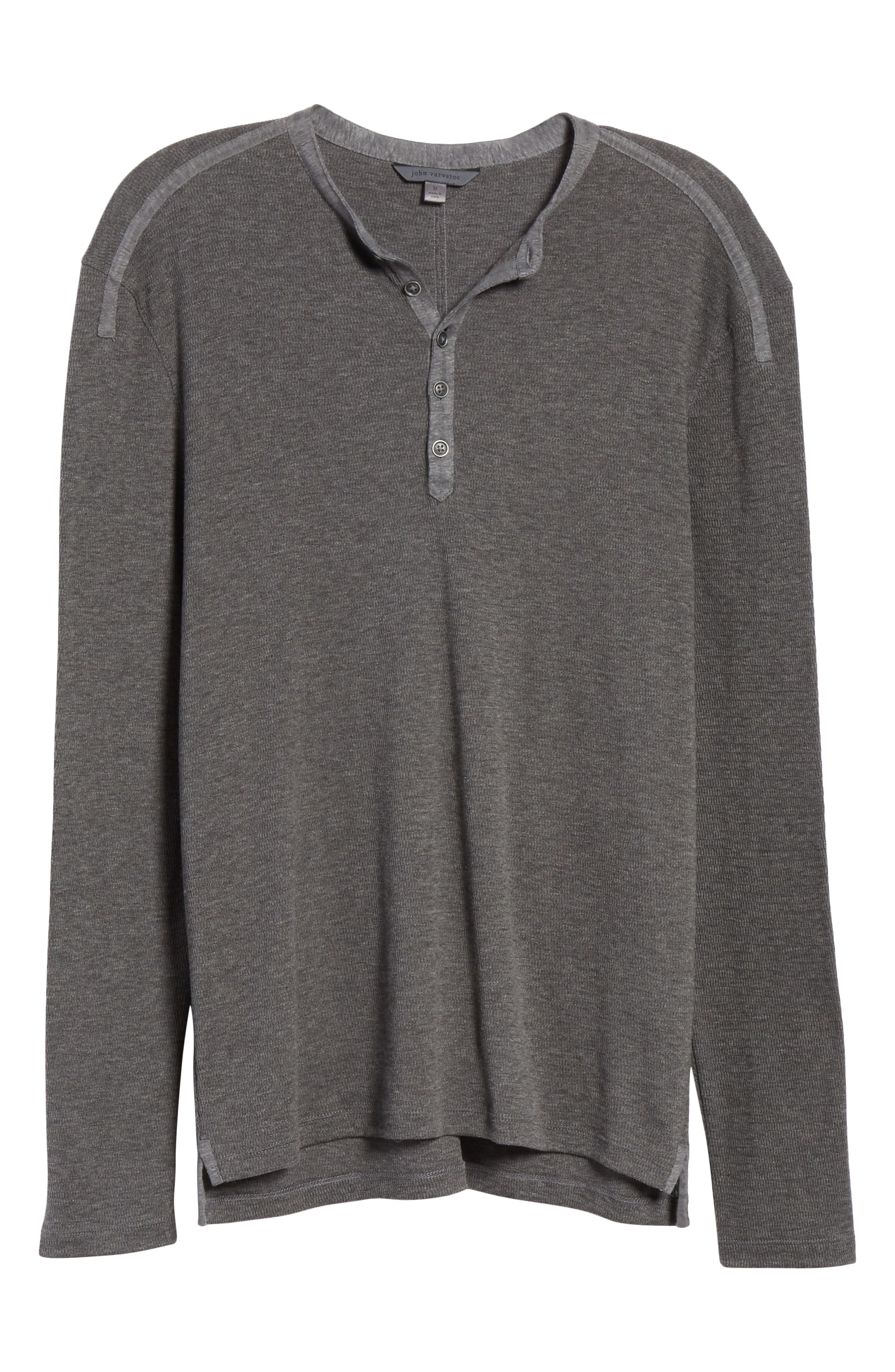 Henley Shirt,                             Alternate thumbnail 6, color,                             001