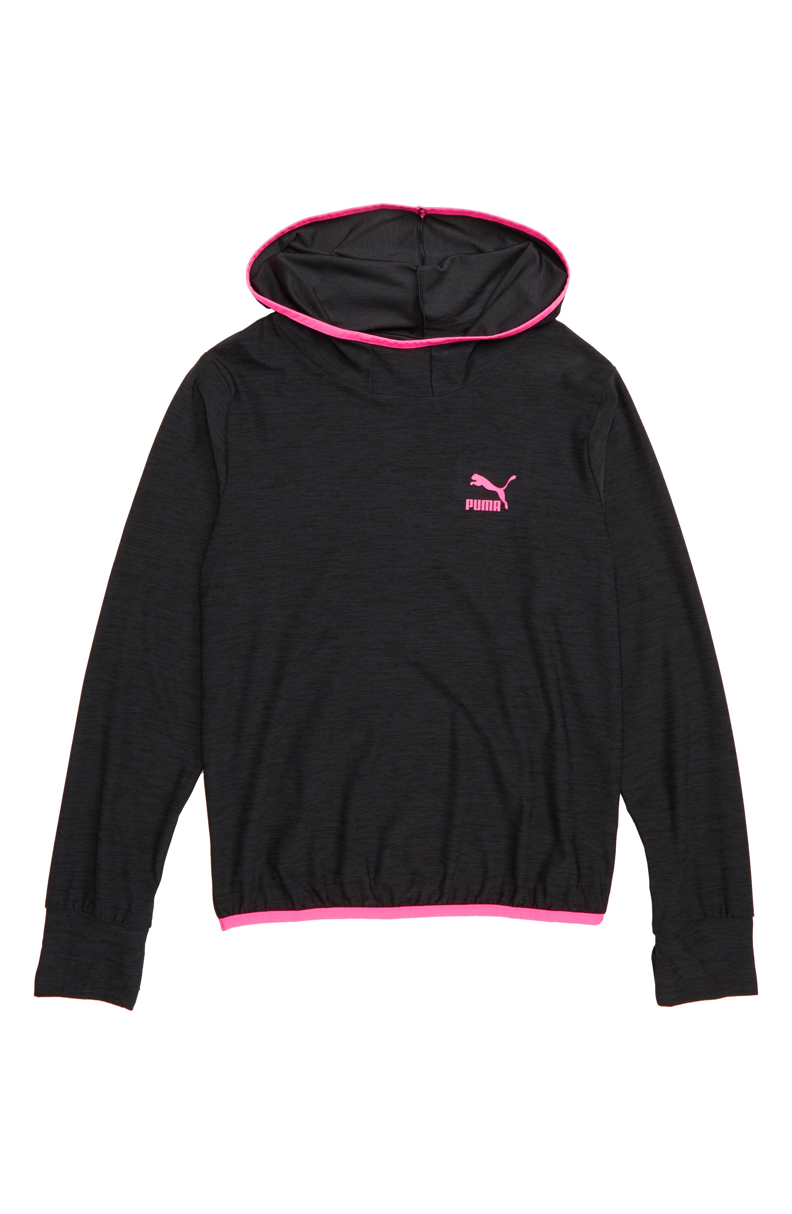 Pullover Hoodie,                             Main thumbnail 1, color,                             EBONY HEATHER