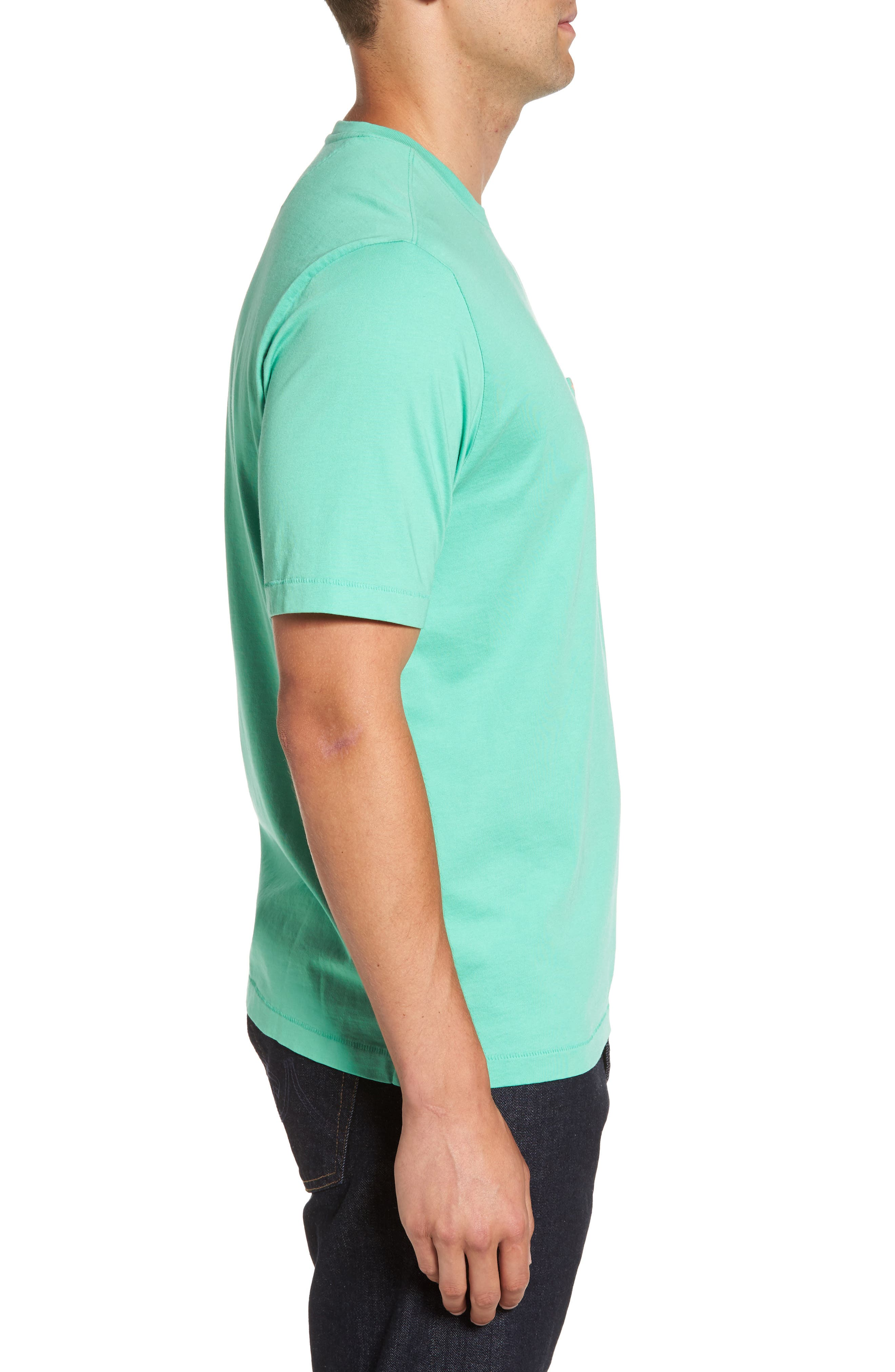 Bali Skyline Pocket T-Shirt,                             Alternate thumbnail 3, color,                             300