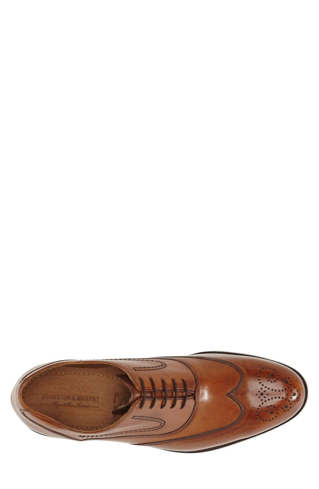 'Stratton' Wingtip Oxford,                             Alternate thumbnail 3, color,                             240