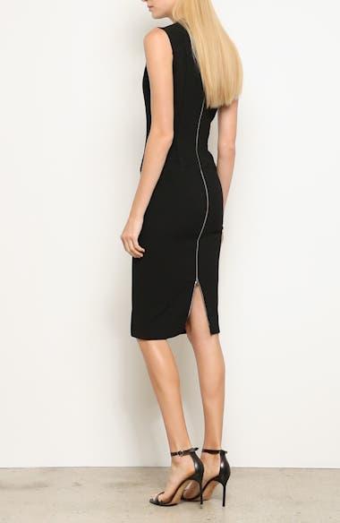 Back Zip Body-Con Dress, video thumbnail