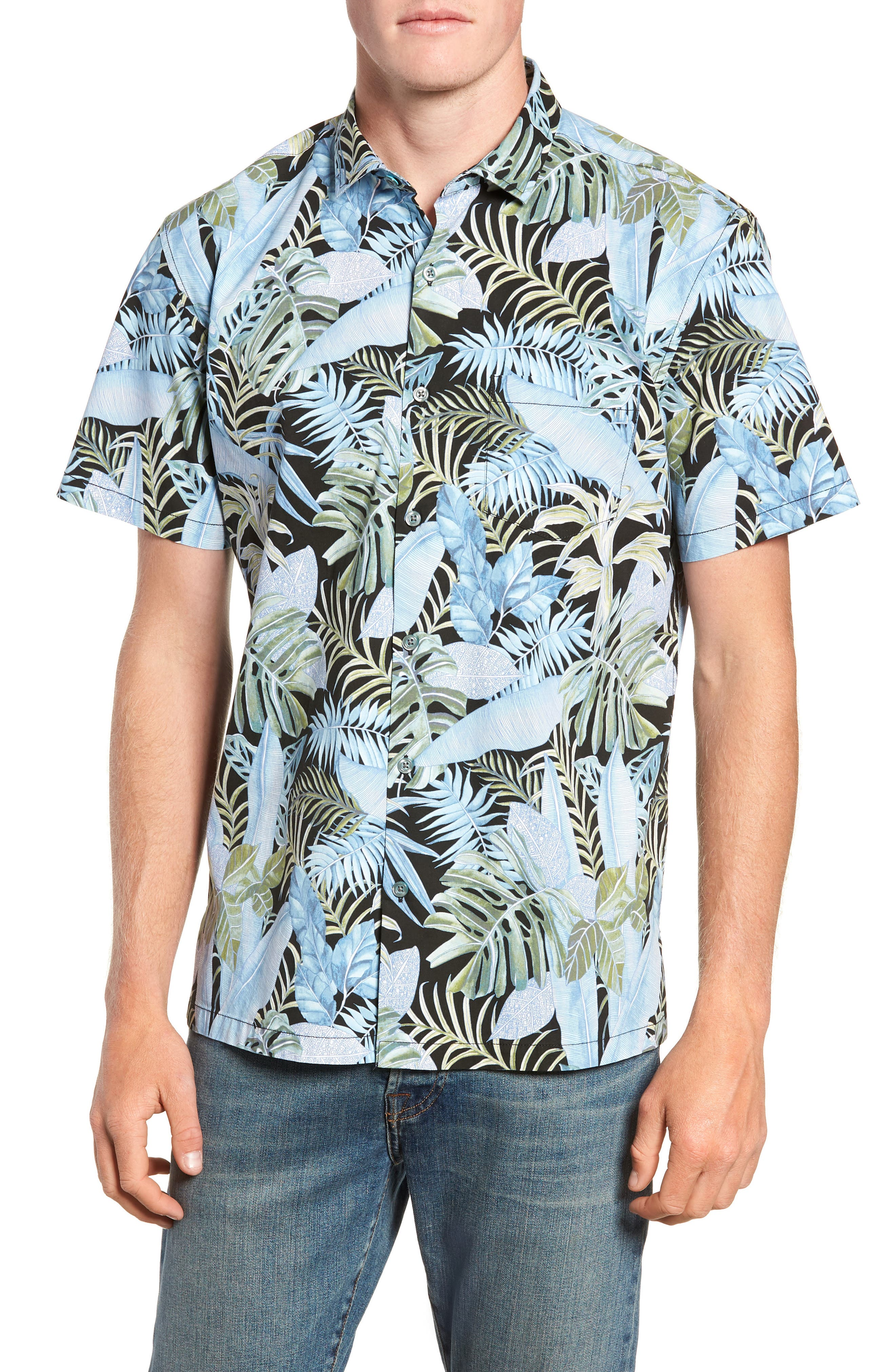 Sumatra Regular Fit Sport Shirt,                             Main thumbnail 1, color,                             001