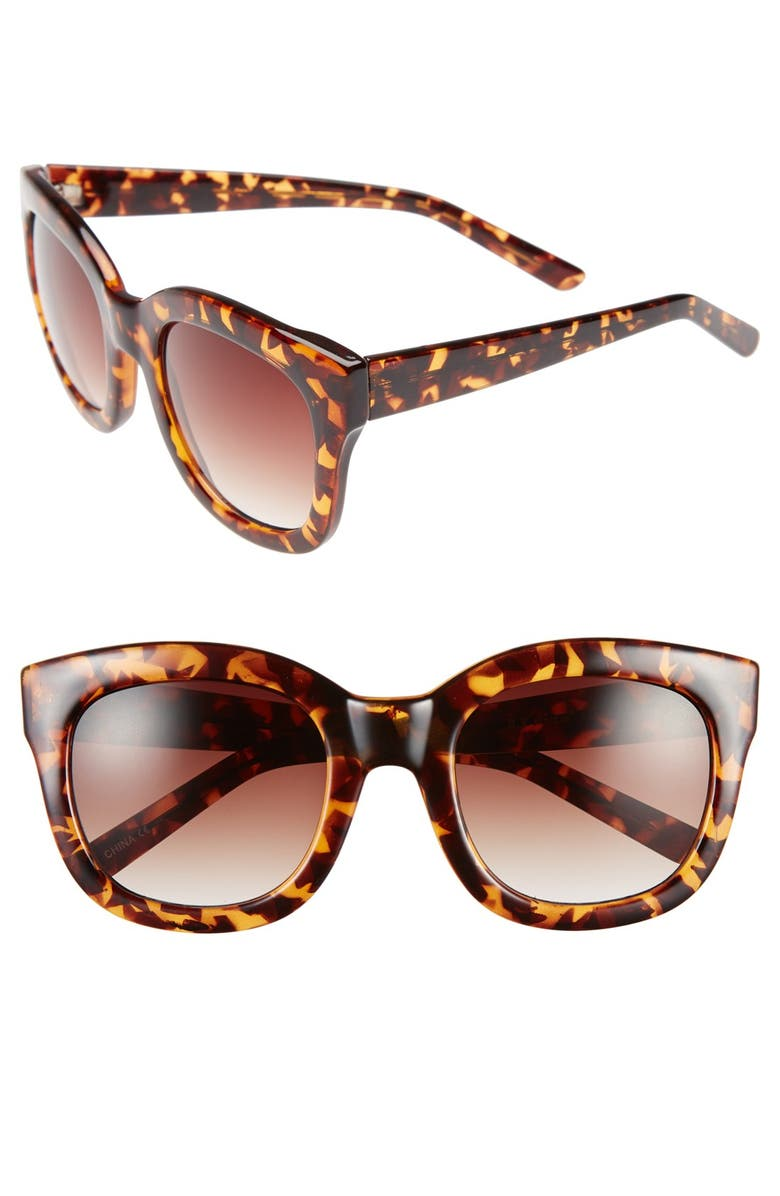 dd531e26a13 A.J. Morgan  Feline  54mm Oversized Cat Eye Sunglasses