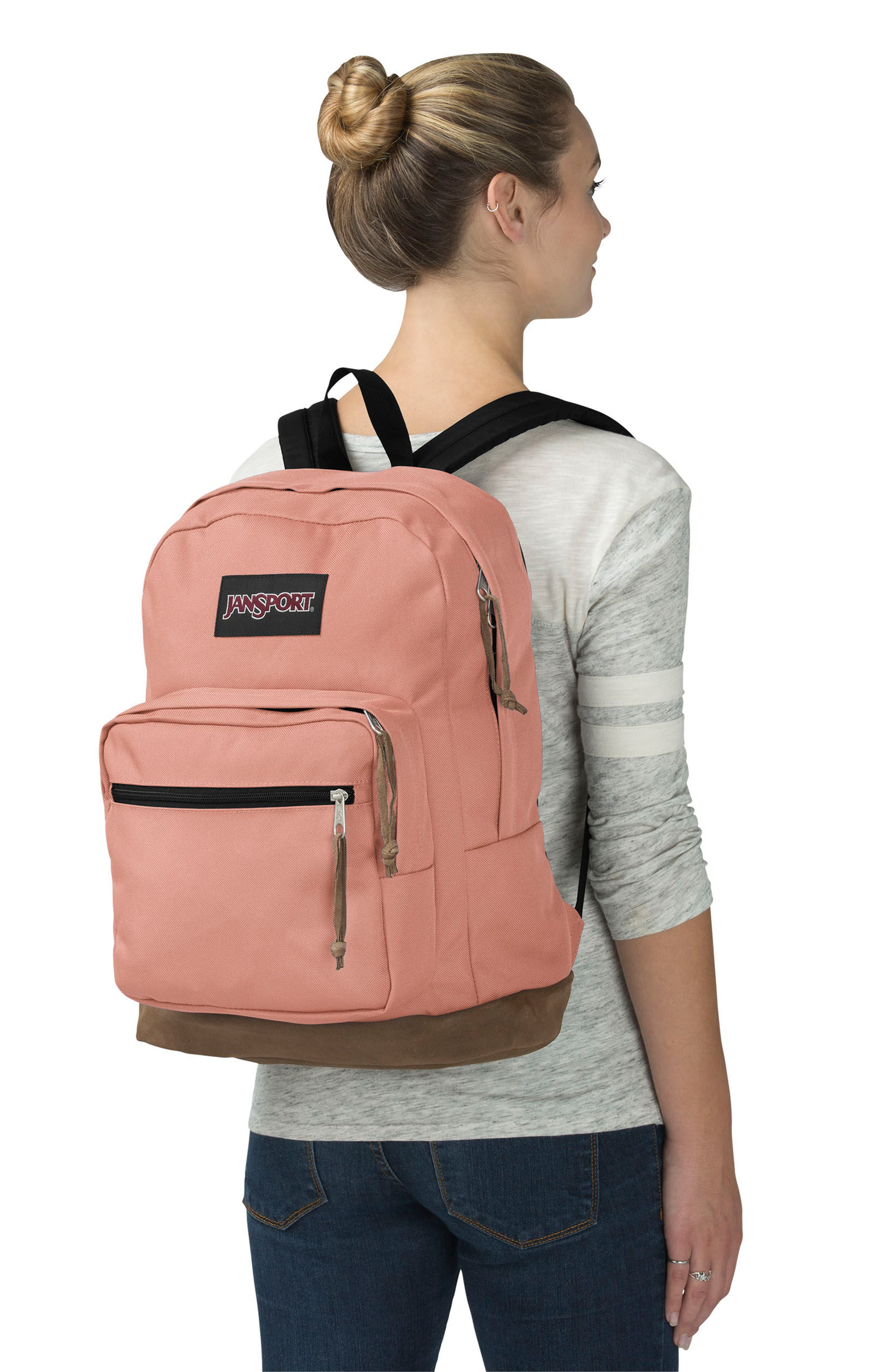 Right Pack Backpack,                             Alternate thumbnail 4, color,                             MUTED CLAY