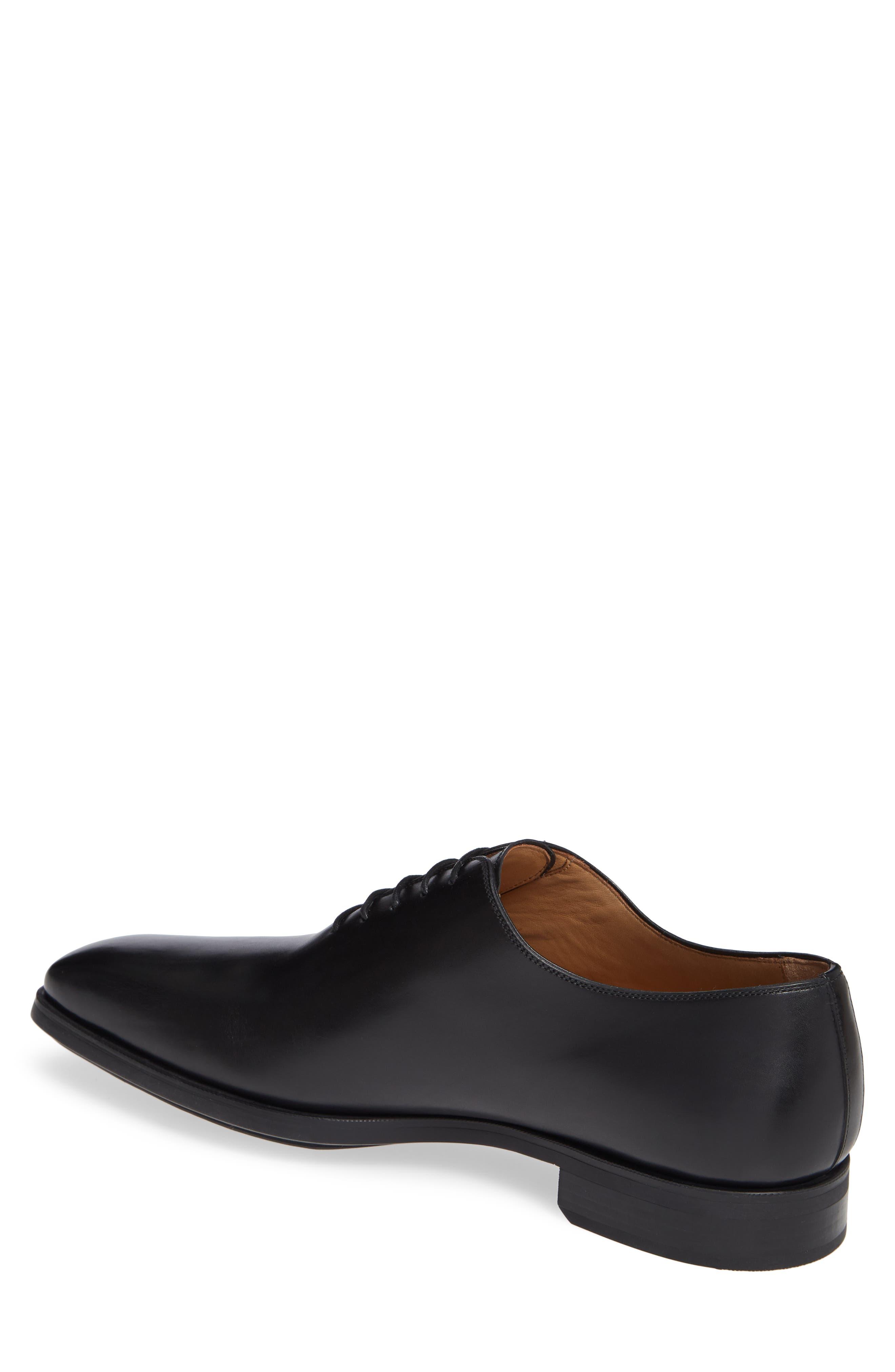 Ryder Plain Toe Oxford,                             Alternate thumbnail 2, color,                             BLACK LEATHER