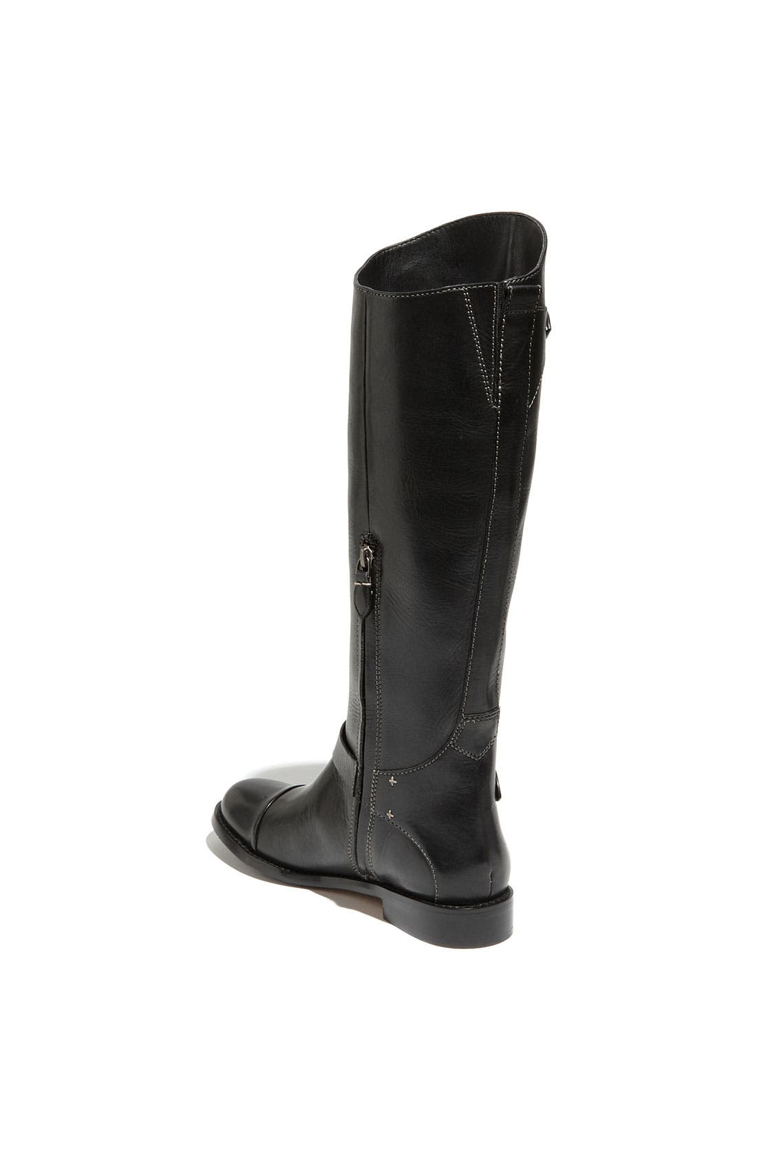 HALOGEN<SUP>®</SUP>,                             HALOGEN KATE TALL RIDING BOOT,                             Alternate thumbnail 4, color,                             001