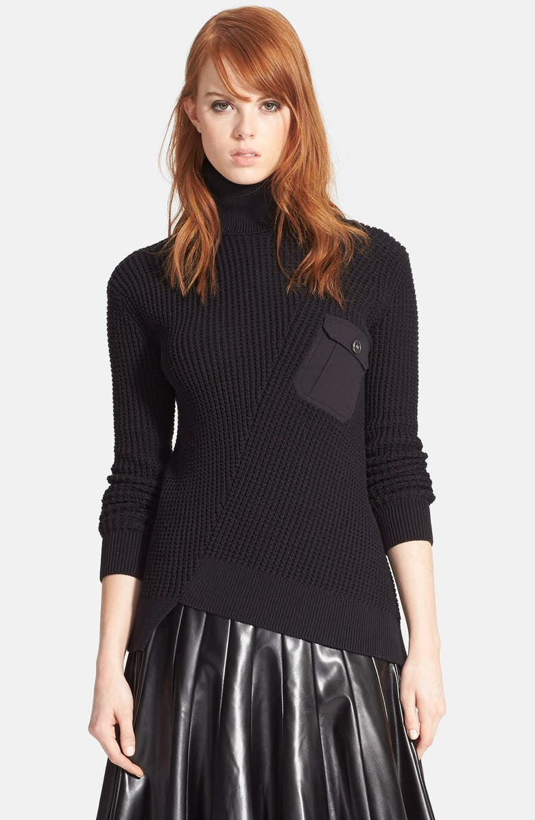 c10f5e20ef6 MARC BY MARC JACOBS Pima Cotton   Silk Turtleneck Sweater