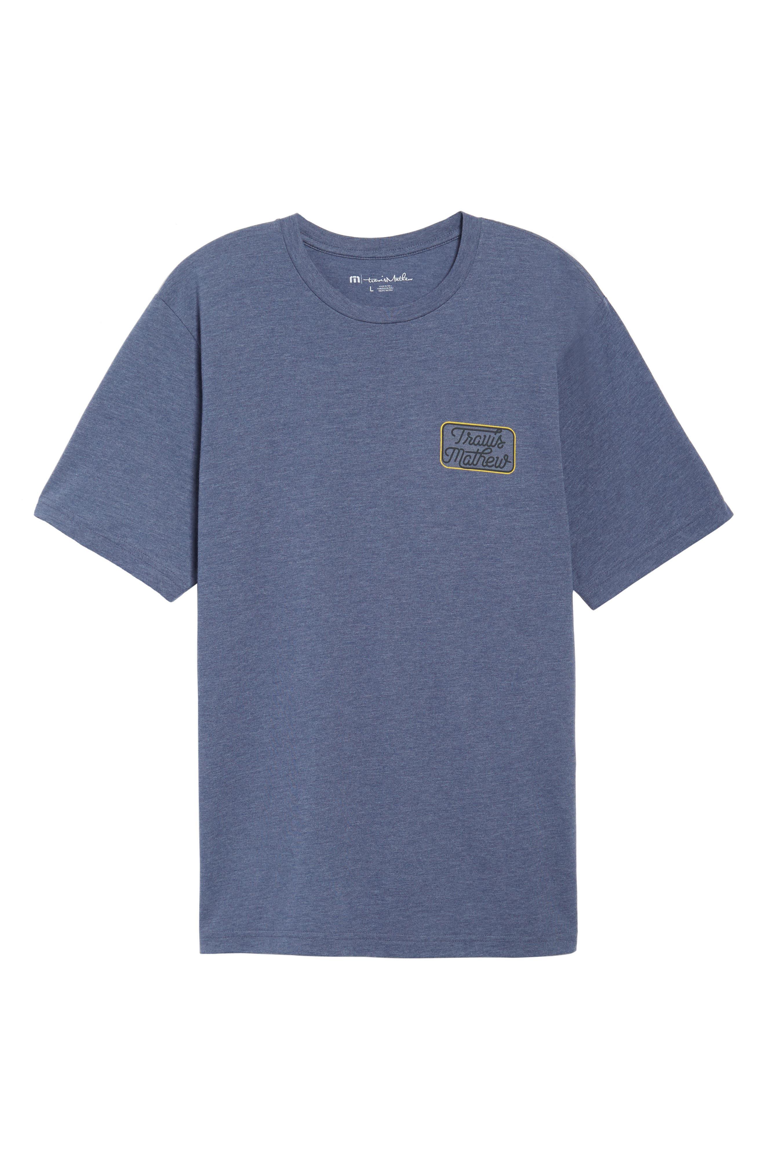 TRAVIS MATHEW,                             Truck Stop Graphic T-Shirt,                             Alternate thumbnail 6, color,                             400