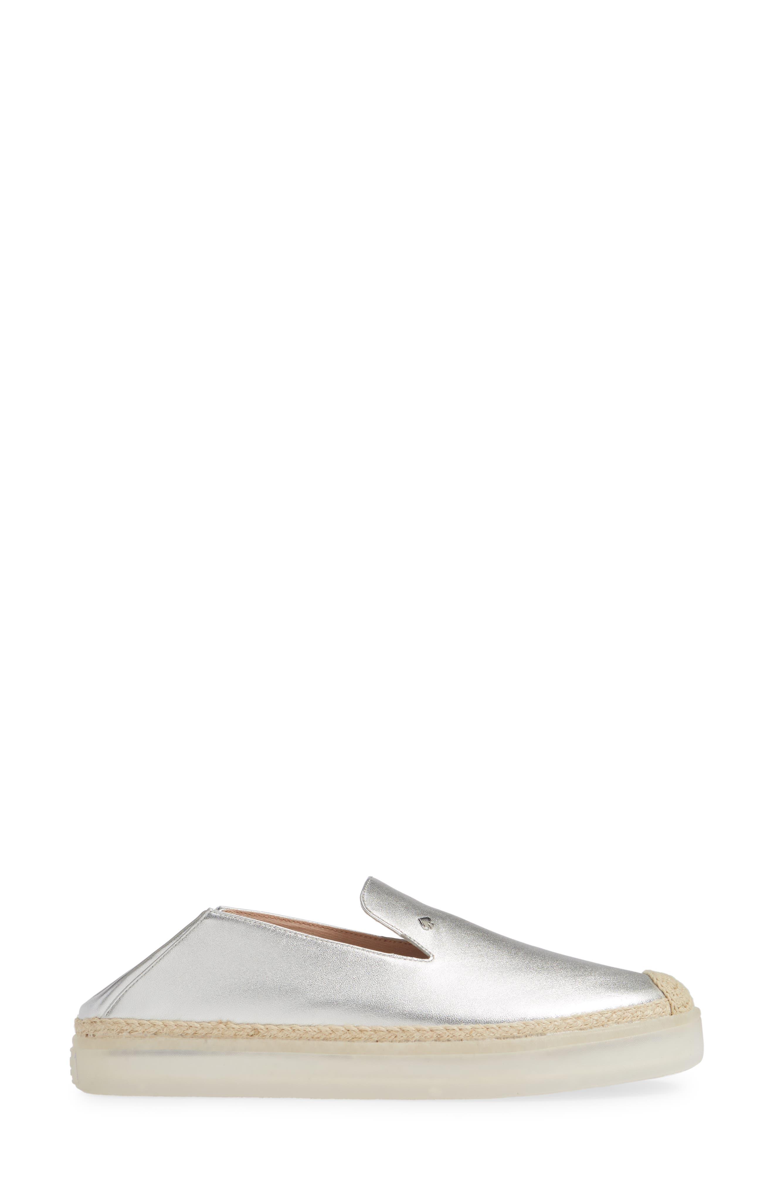 lisa slip-on sneaker,                             Alternate thumbnail 4, color,                             SILVER