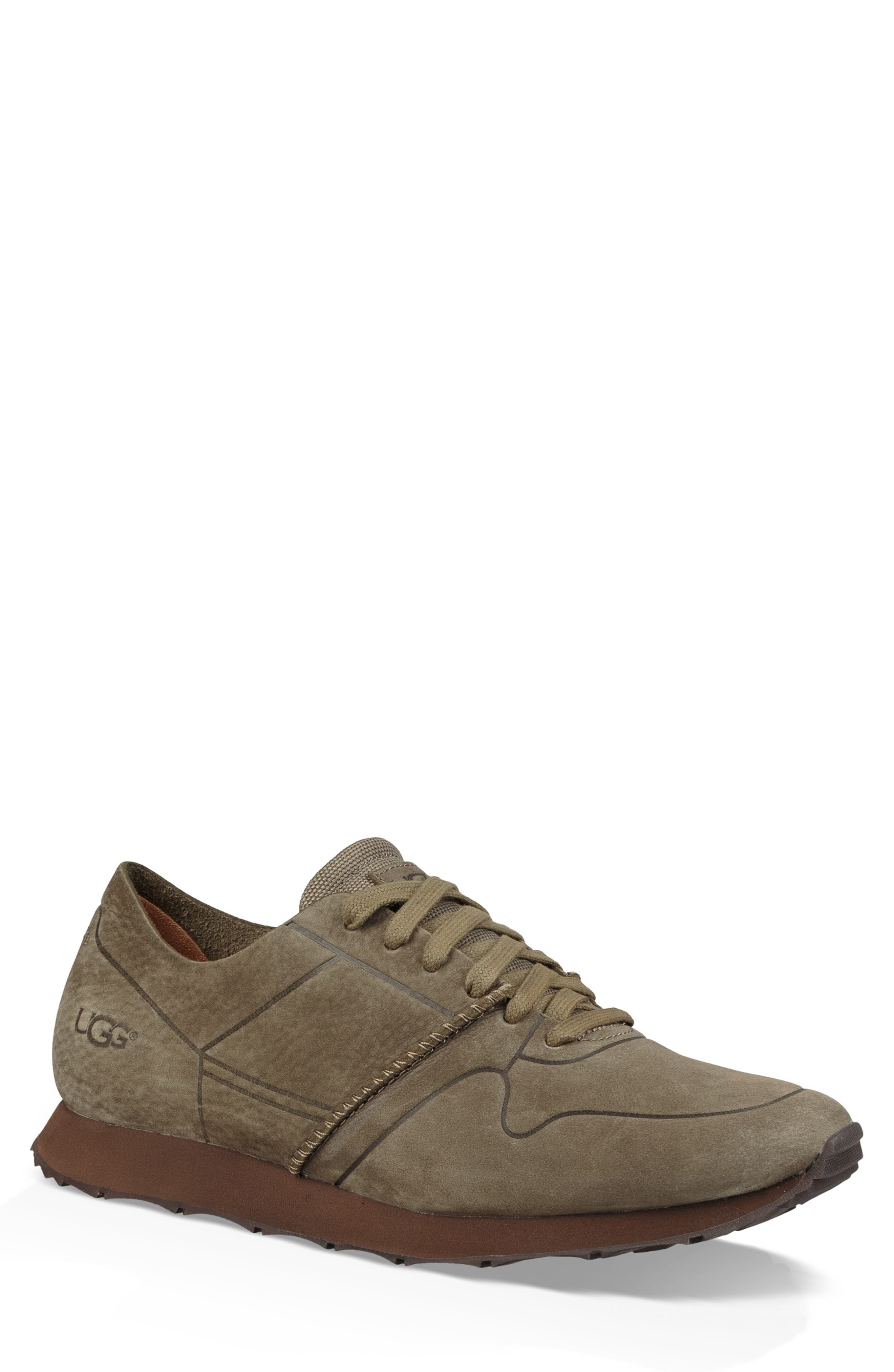 Trigo Unlined Sneaker,                             Main thumbnail 1, color,                             MOSS GREEN
