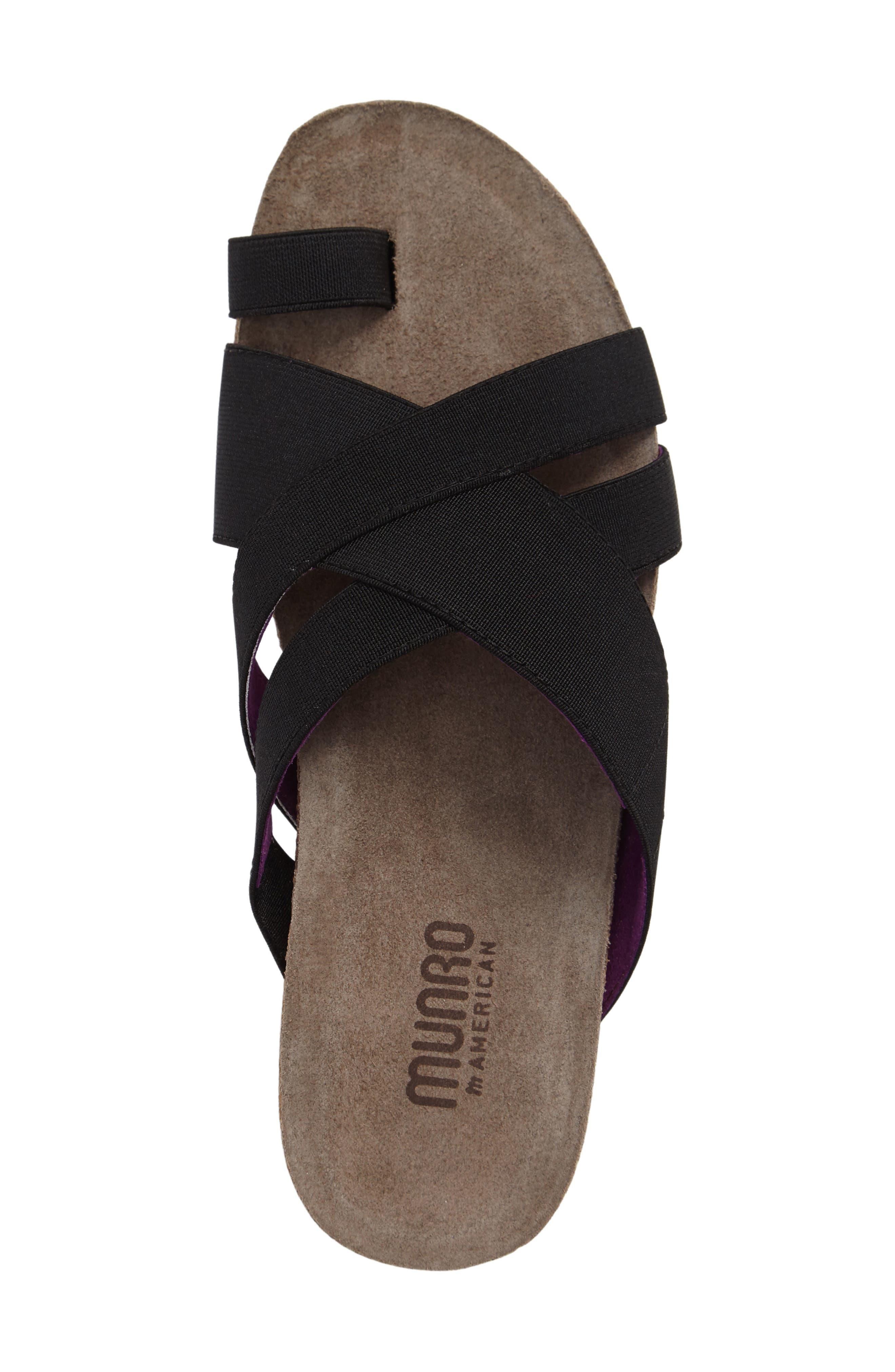 Delphi Slide Sandal,                             Alternate thumbnail 3, color,                             001