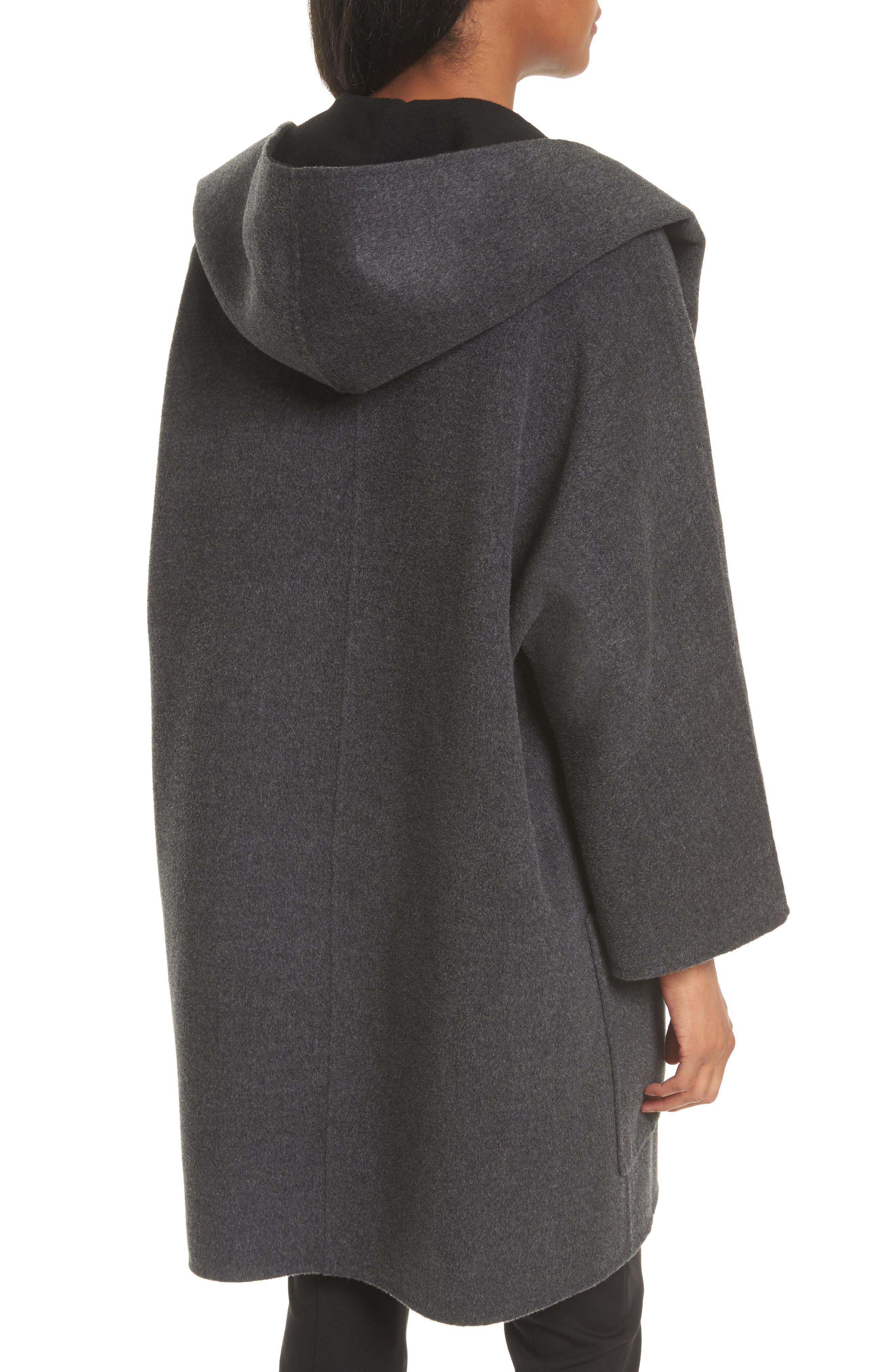 Double Face Wool & Cashmere Coat,                             Alternate thumbnail 2, color,                             060