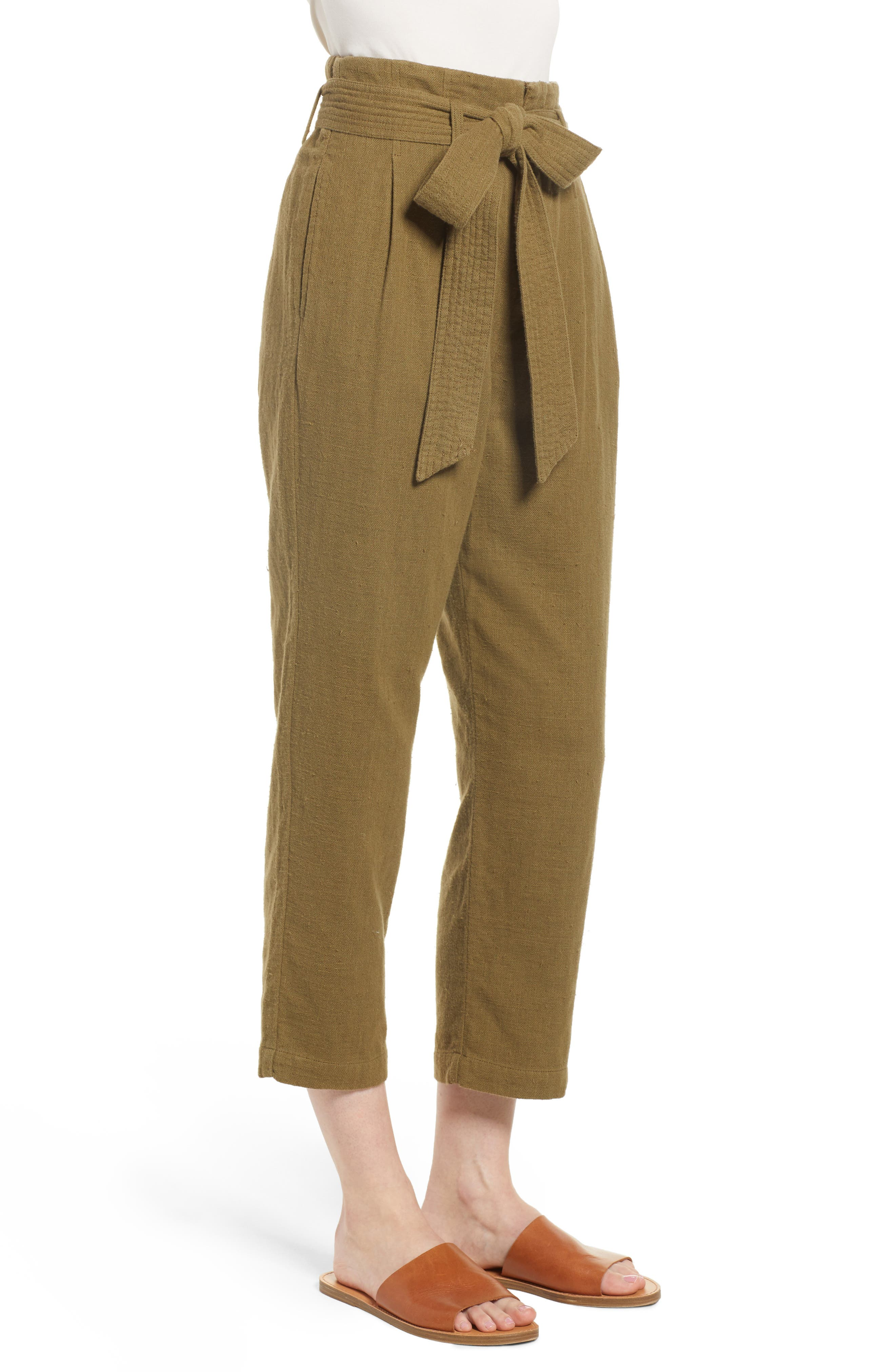 Darena Pants,                             Alternate thumbnail 3, color,                             OLIVE GROVE