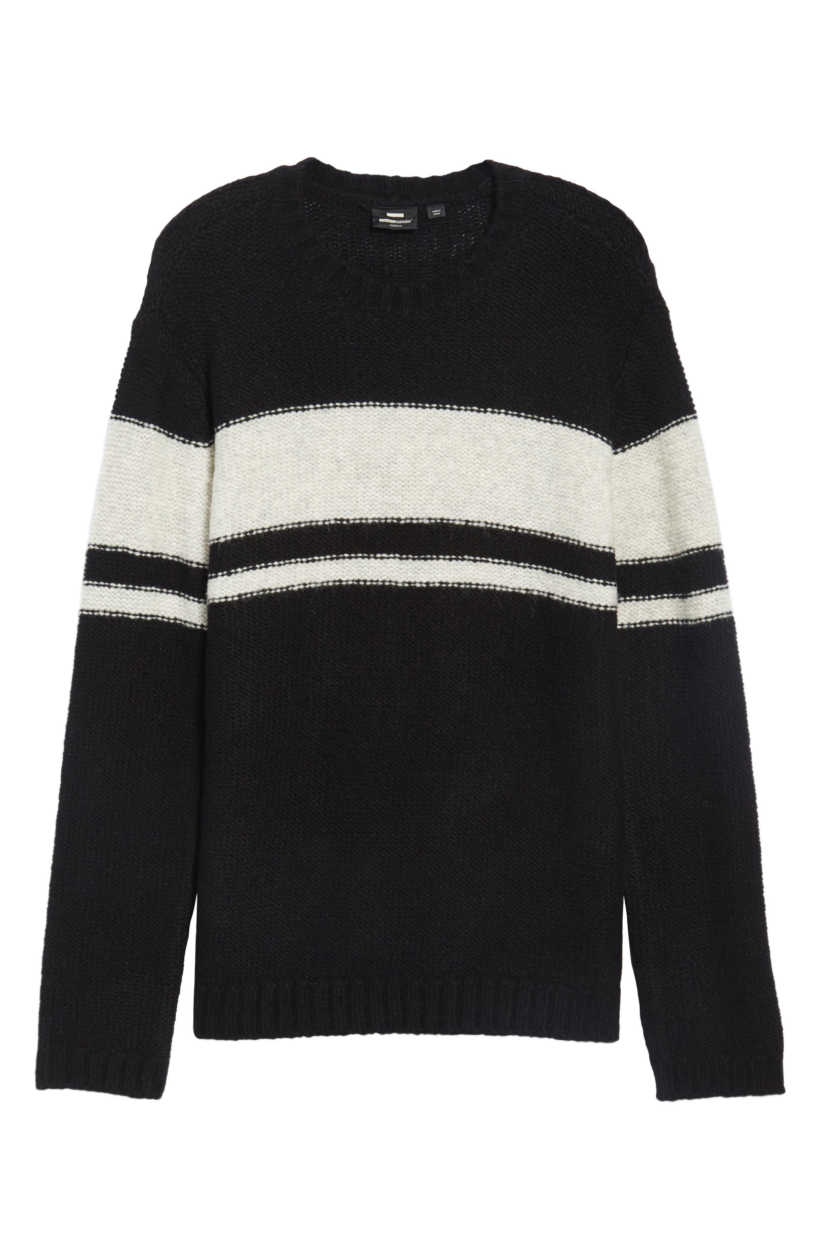 Blume Sweater,                             Alternate thumbnail 6, color,                             001