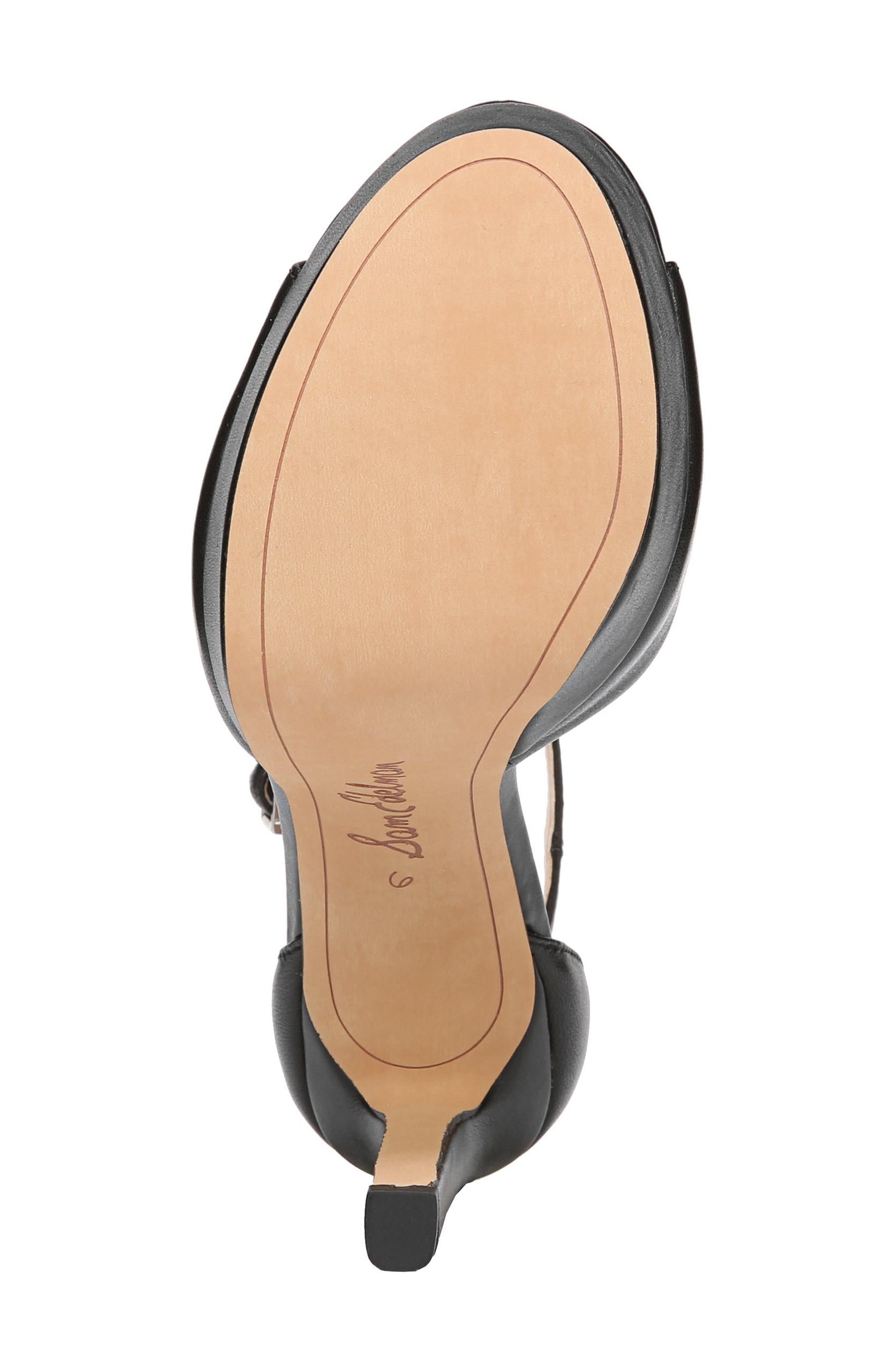 Wallace Platform Sandal,                             Alternate thumbnail 6, color,                             001