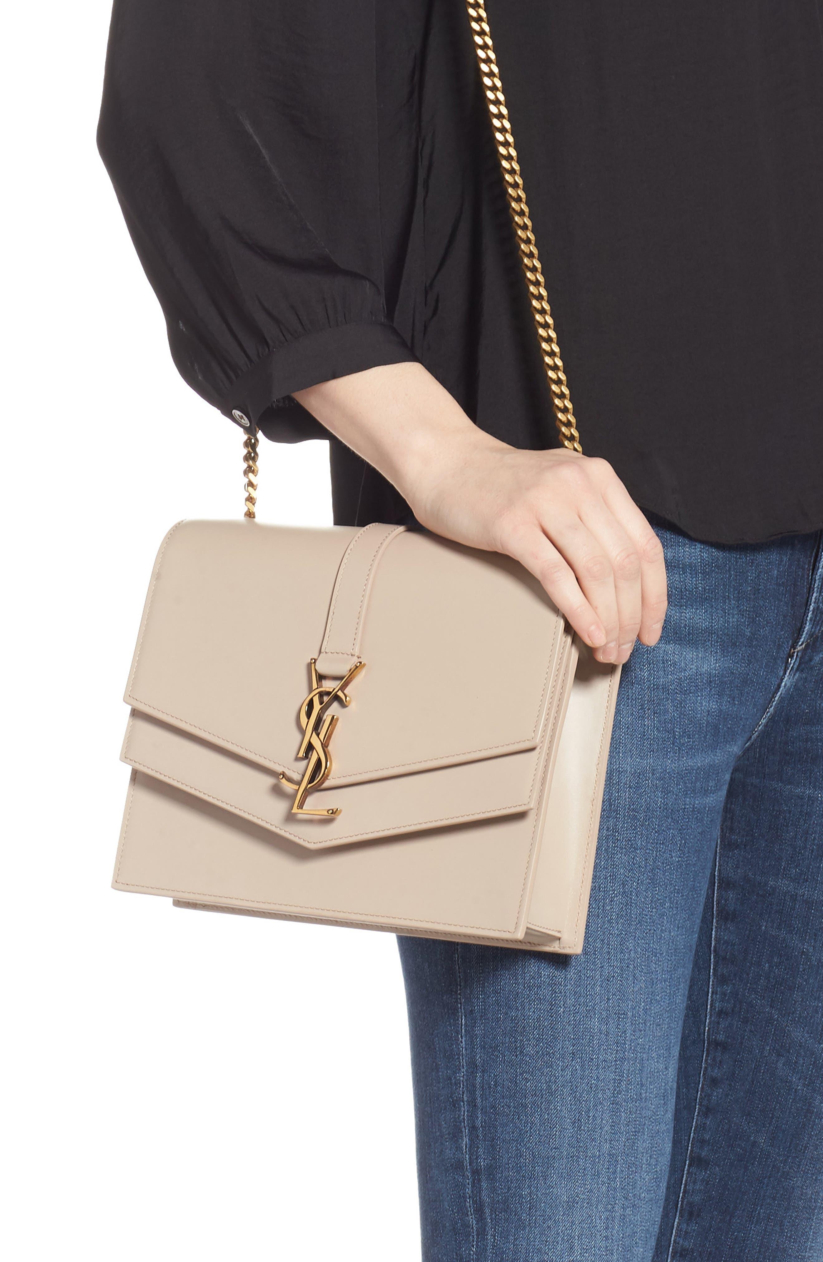 Sulpice Leather Shoulder Bag,                             Alternate thumbnail 2, color,                             LIGHT NATURAL