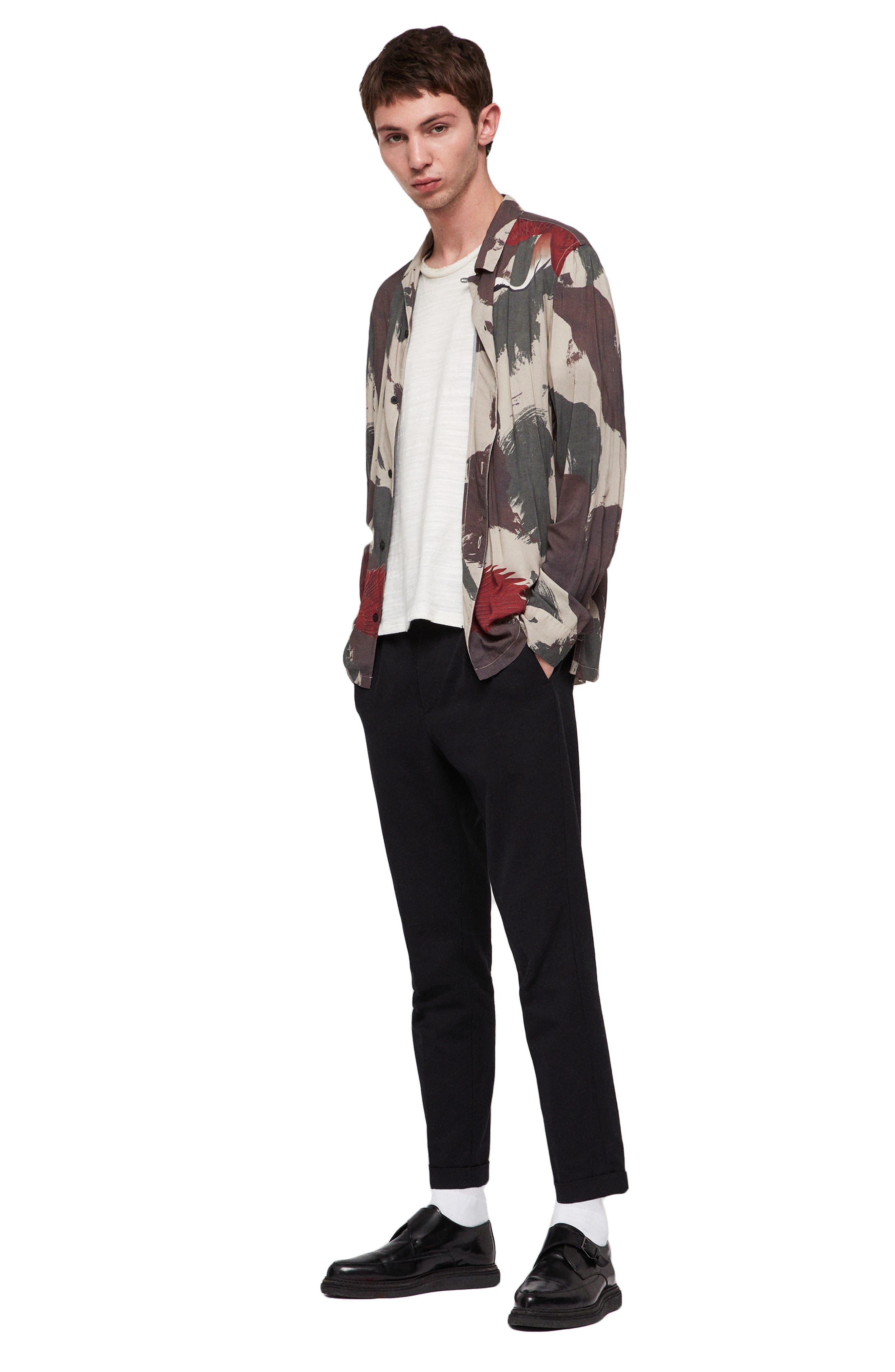 Lucerne Slim Fit Shirt,                             Alternate thumbnail 6, color,                             300