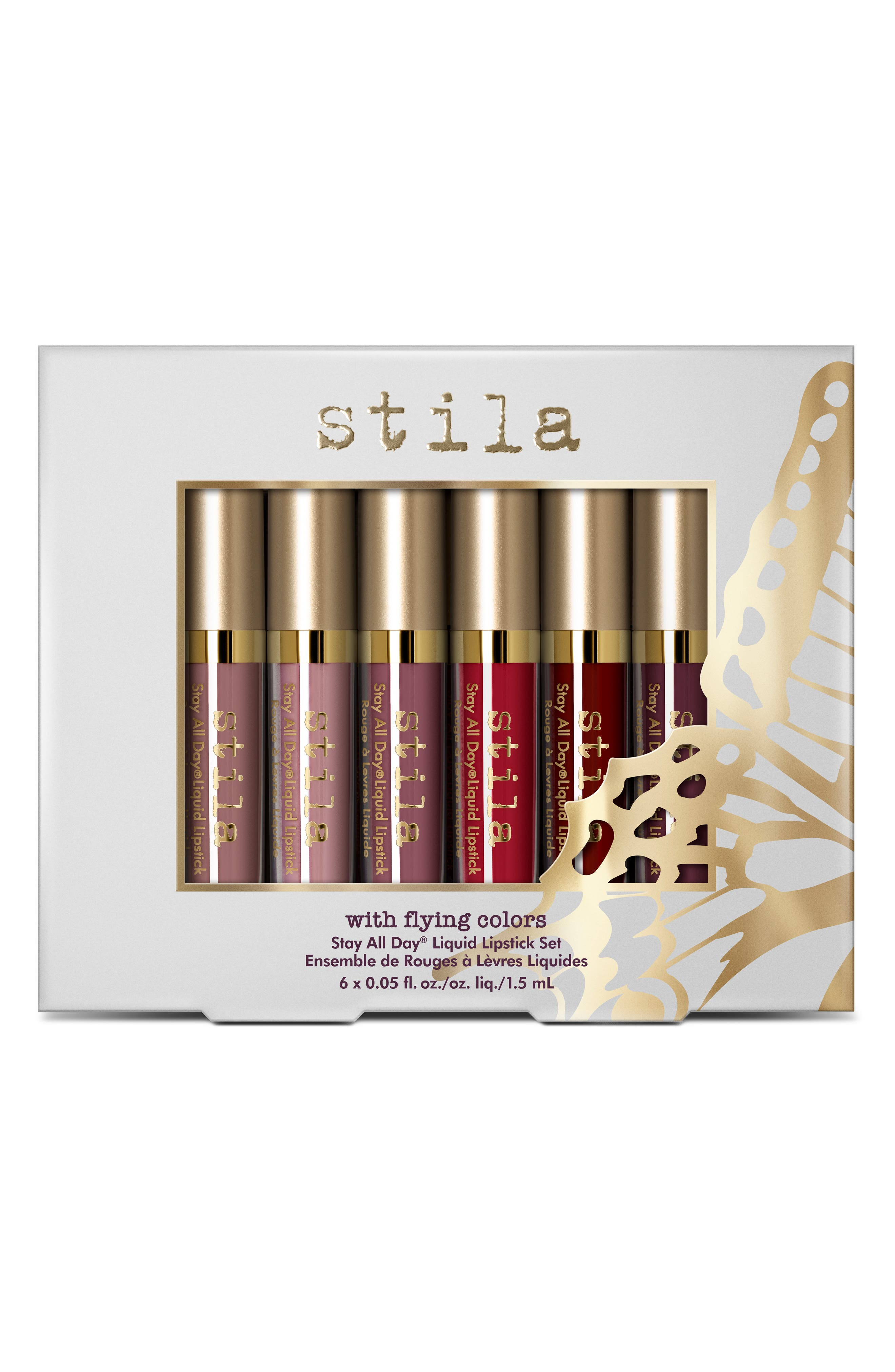 With Flying Colors Stay All Day<sup>®</sup> Liquid Lipstick Set,                             Alternate thumbnail 2, color,                             000