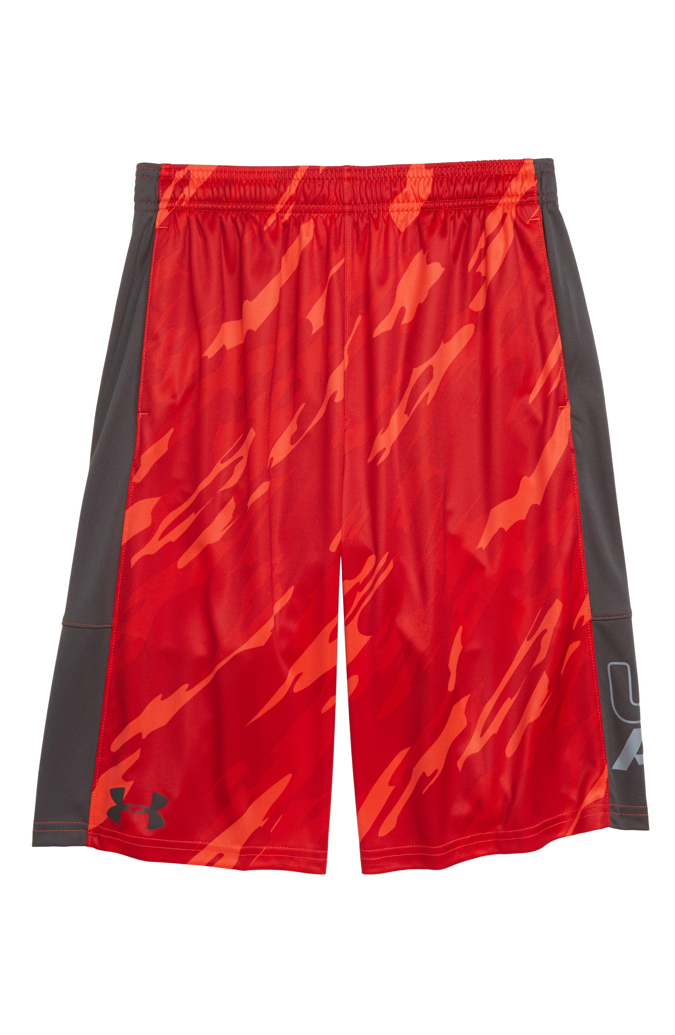 Stunt HeatGear<sup>®</sup> Shorts,                             Main thumbnail 25, color,