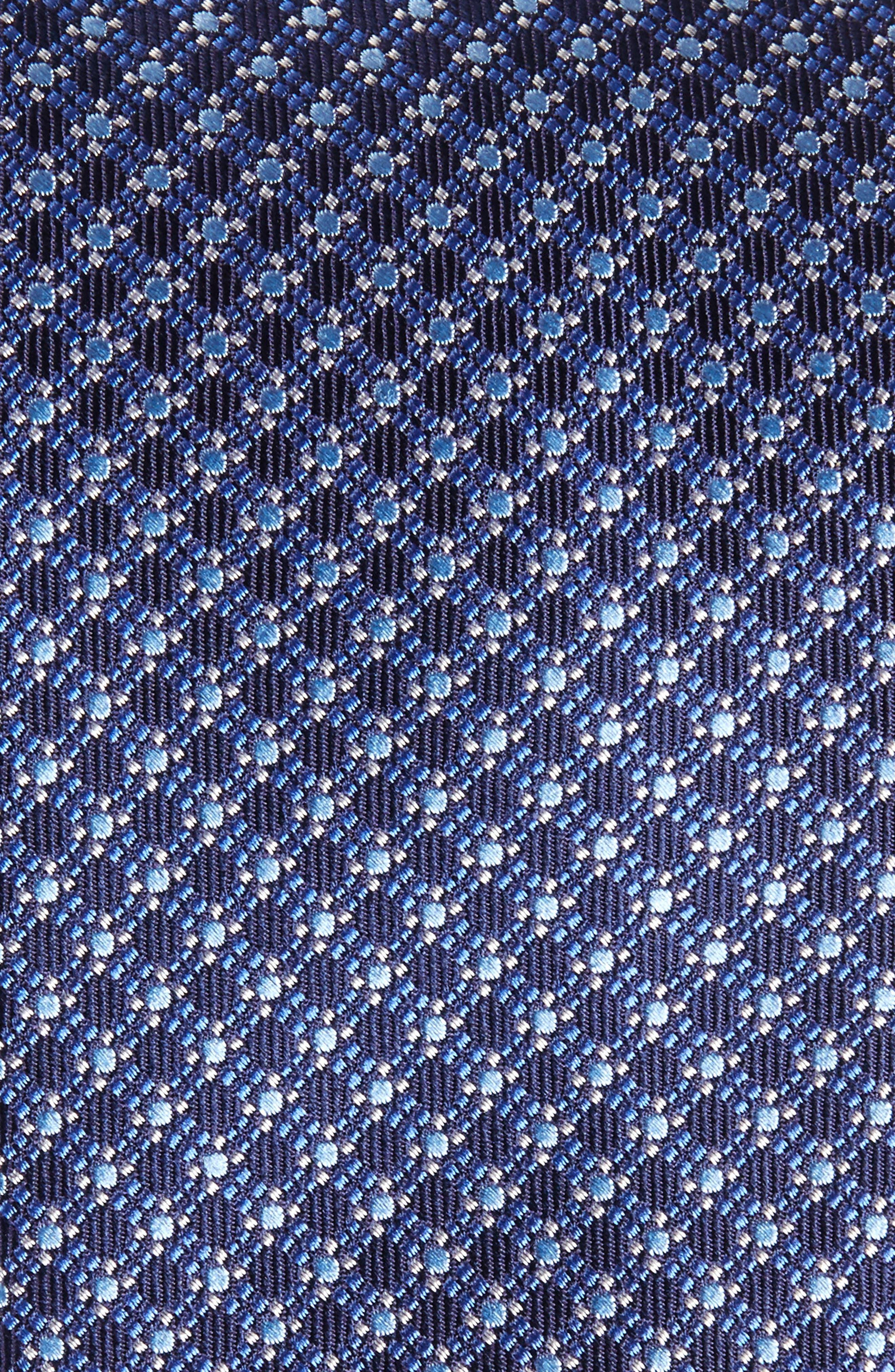 Neat Silk Tie,                             Alternate thumbnail 6, color,