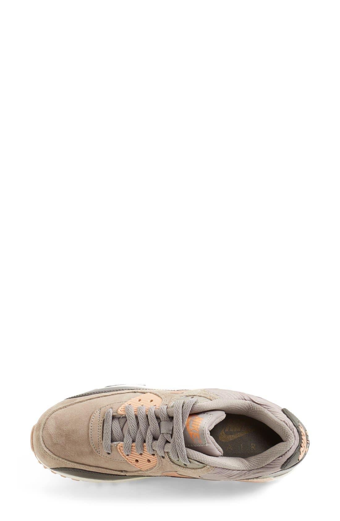 'Air Max 90' Sneaker,                             Alternate thumbnail 4, color,                             020